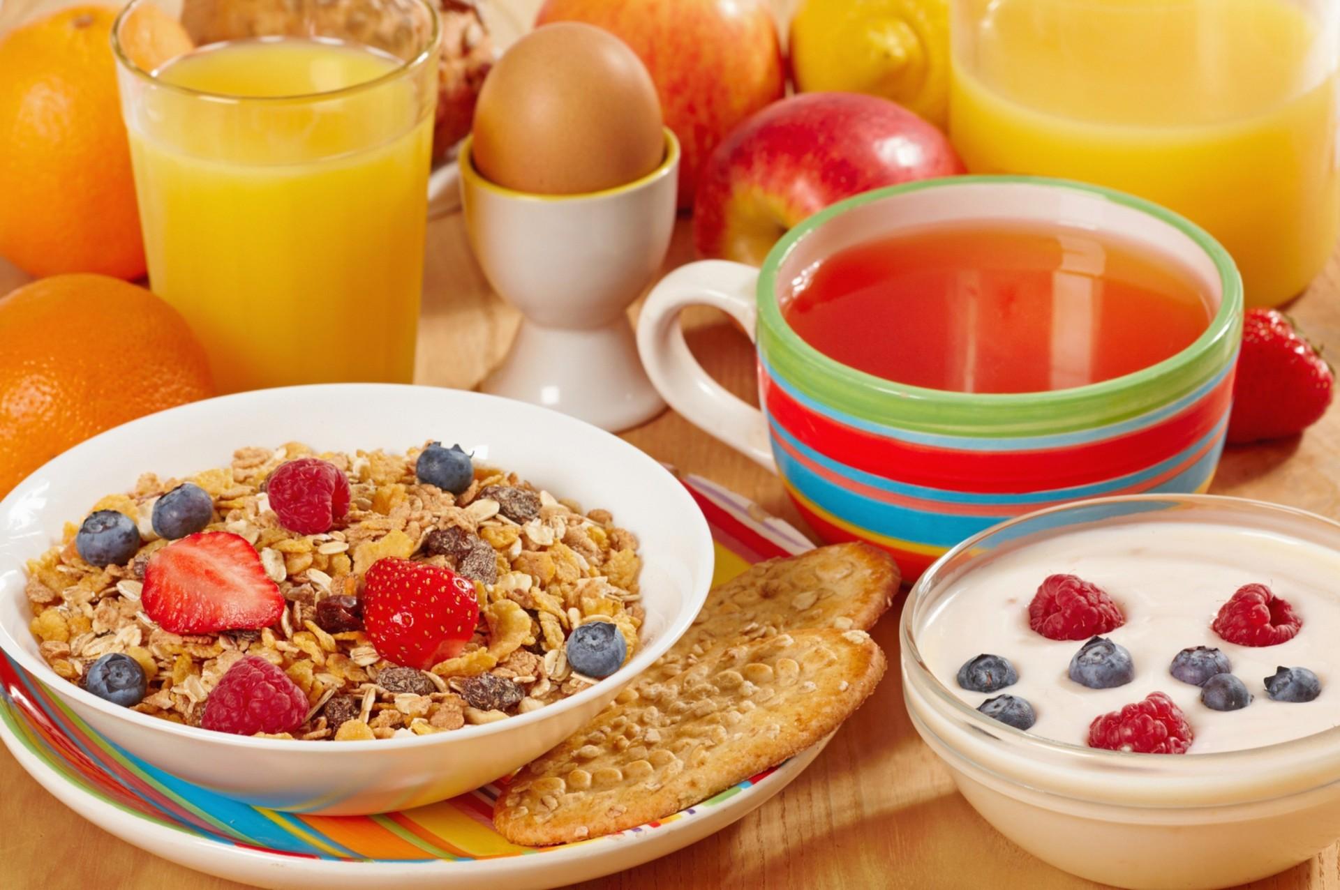 Обои мюсли, завтрак, Гранат. Еда foto 13