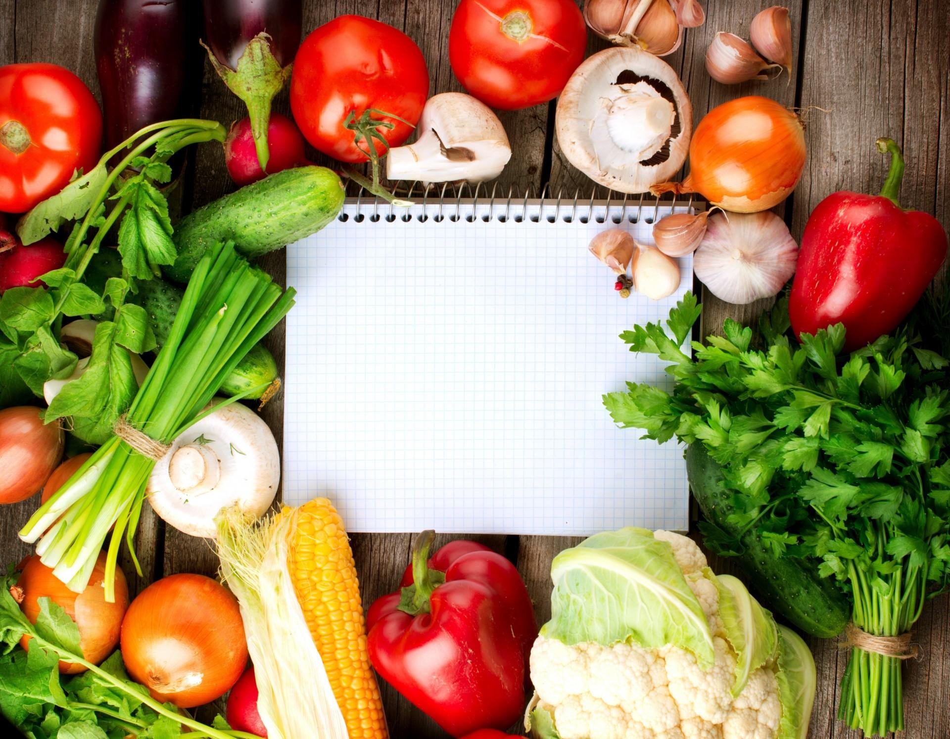 Обои помидоры, овощи, чеснок, брокколи, салат, Перец. Еда foto 9