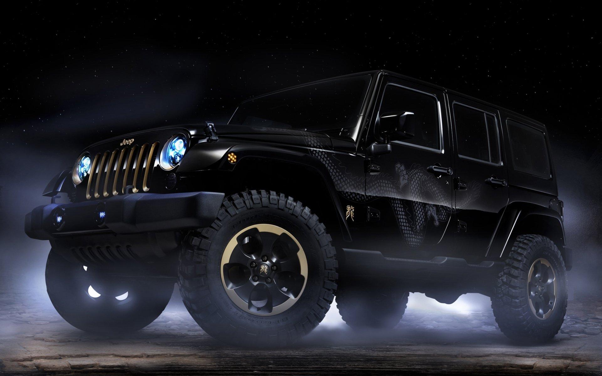 черный Jeep загрузить
