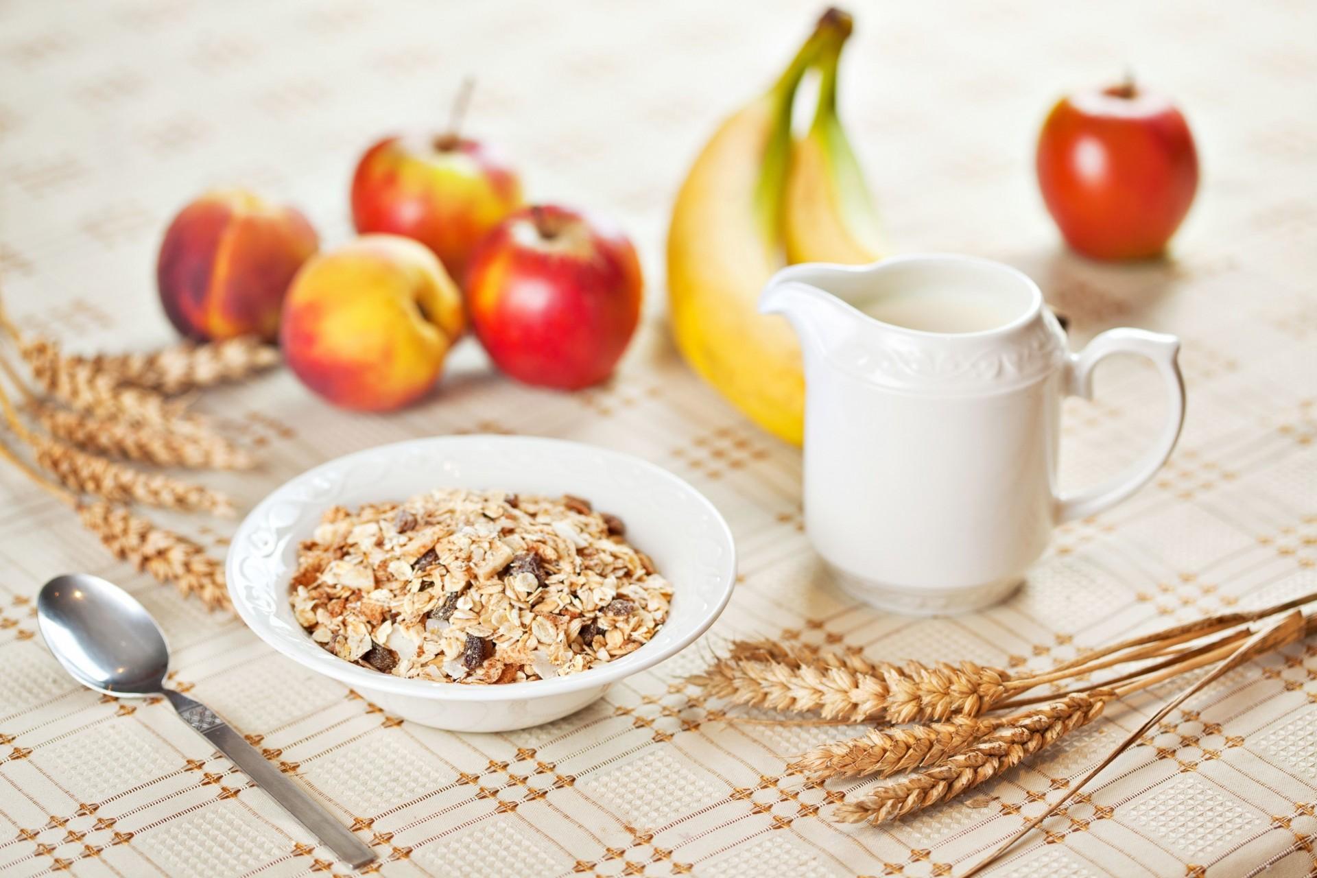 Обои мюсли, завтрак, Гранат. Еда foto 10