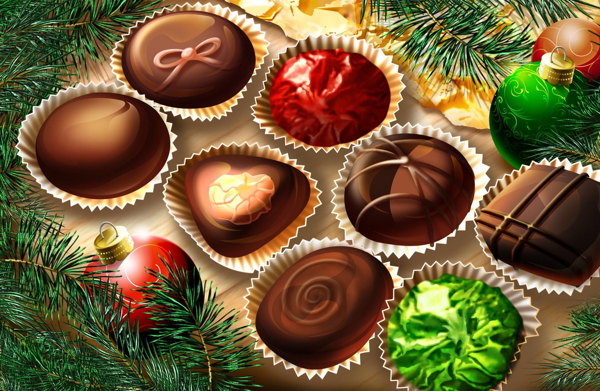 новый год праздник конфеты new year holiday candy скачать