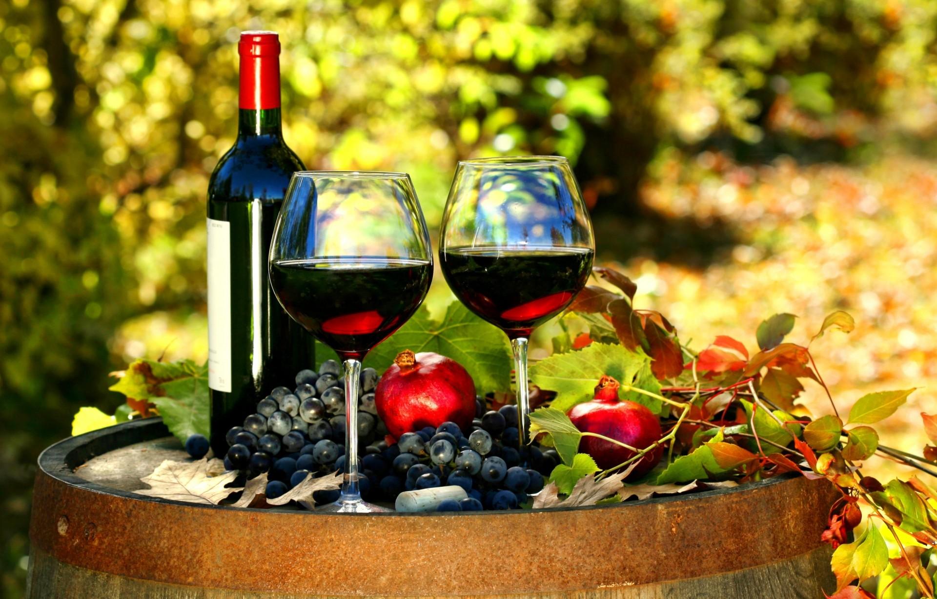 Обои красное, вино, бутылка, виноград, лоза. Разное foto 9