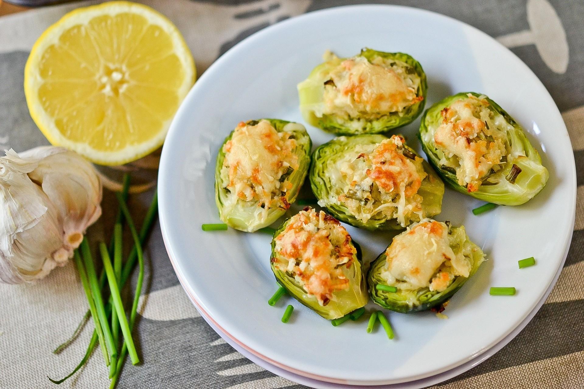 Рецепт брюссельской капусты с сыром