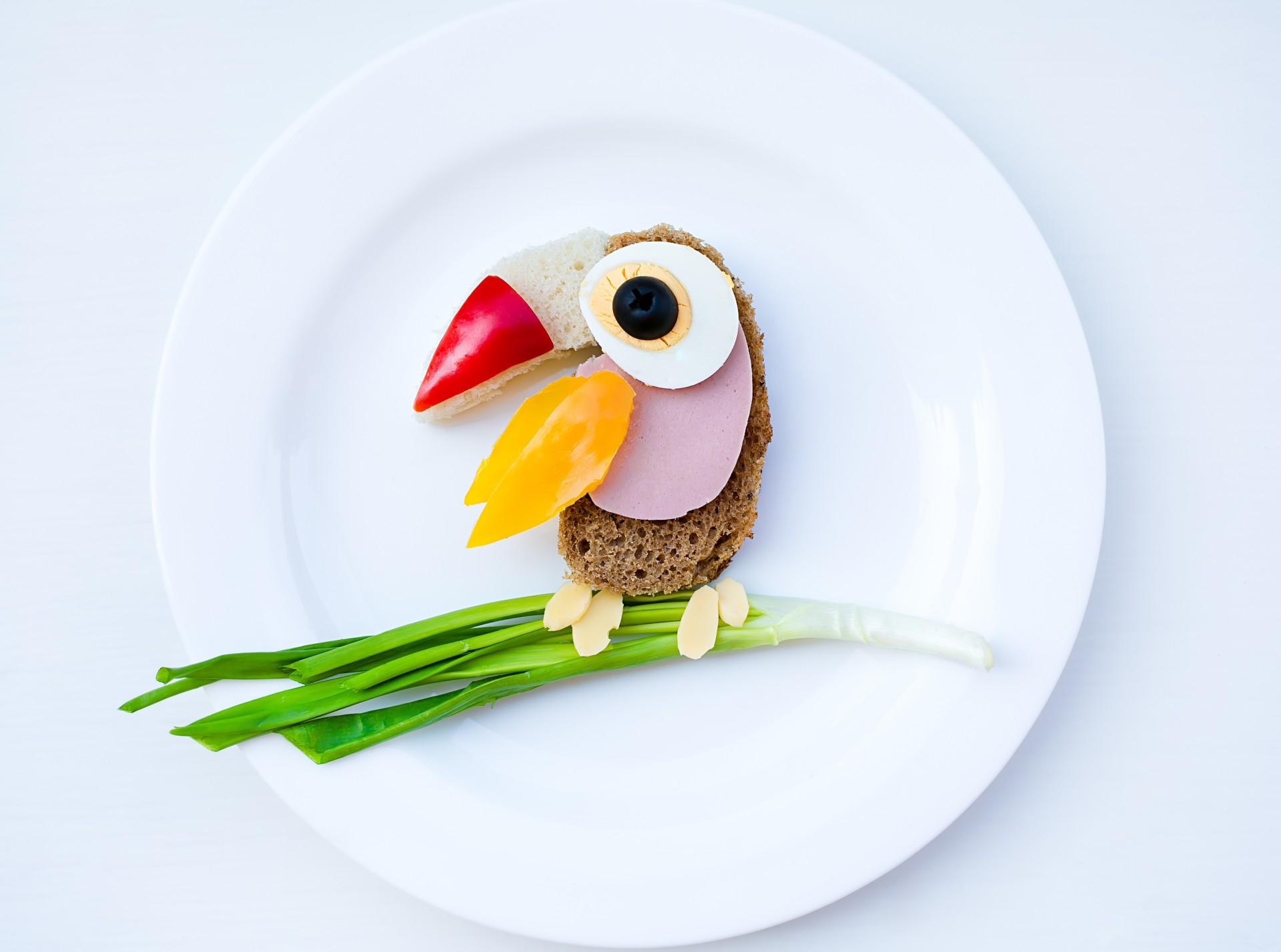Как сделать еду в виде животных