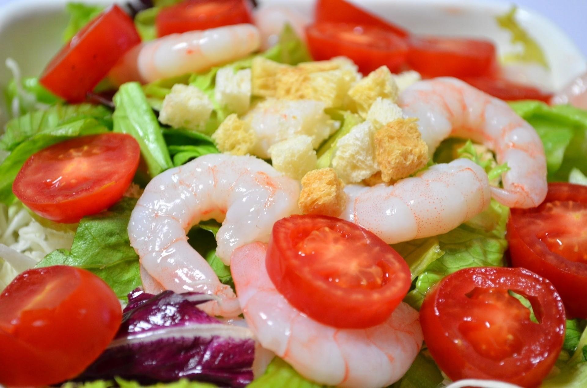 Салат из королевских креветок рецепты с фото