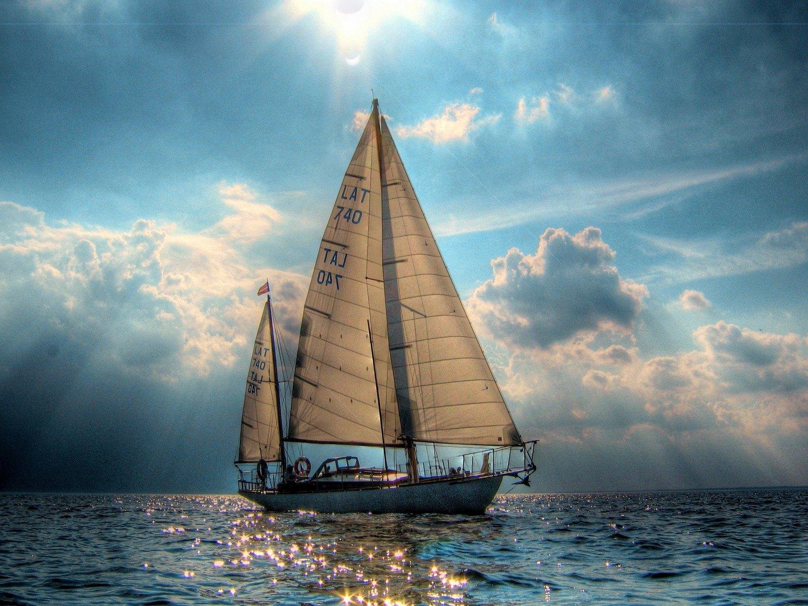 Картинки лодка с парусом, кружки прикольные