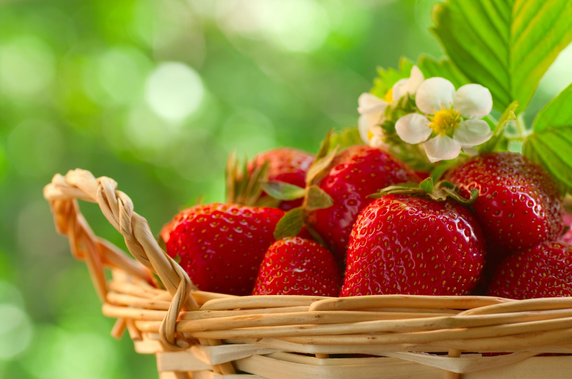 клубника корзина strawberry basket без смс
