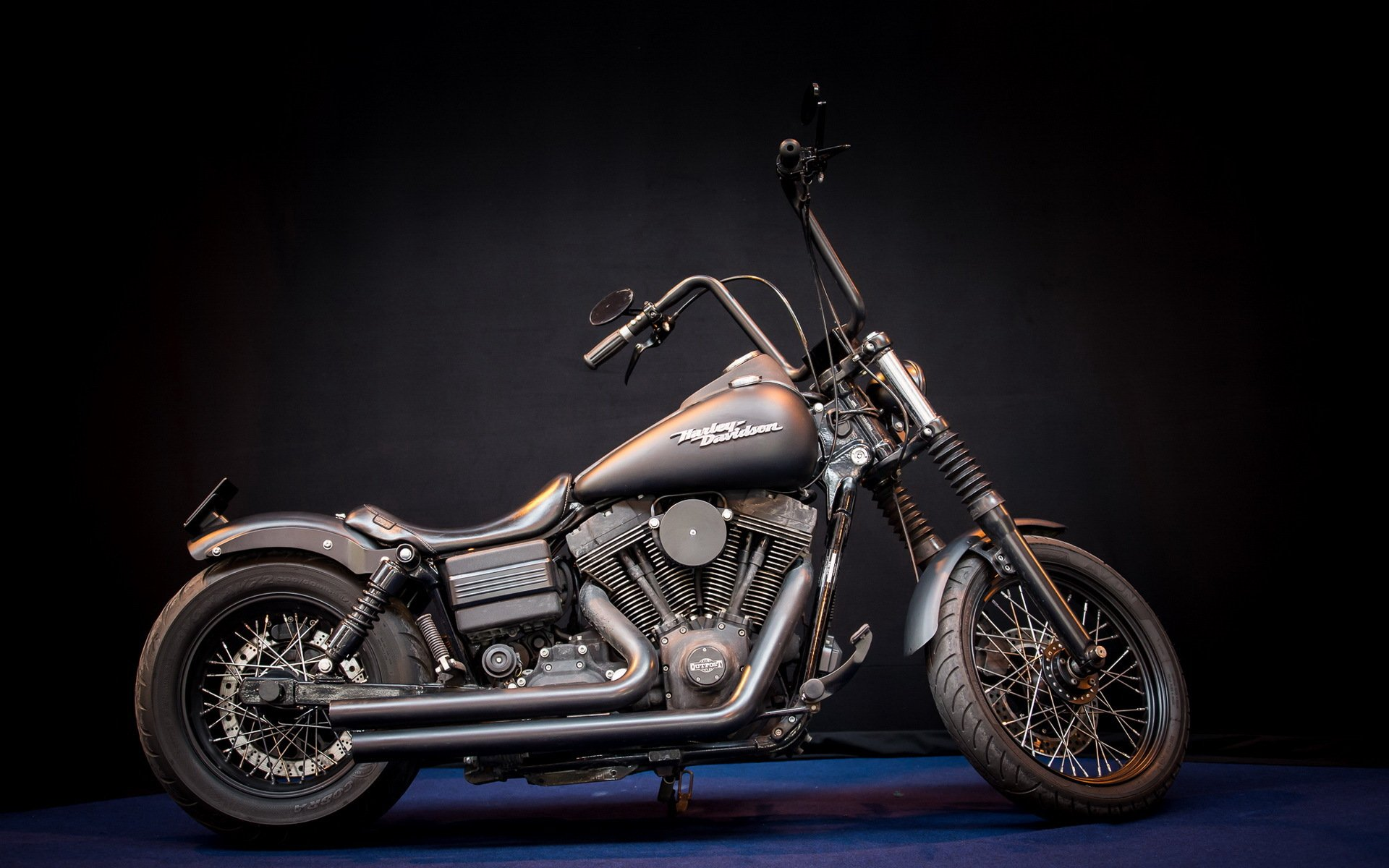 harley davidson mean machine мотоцикл