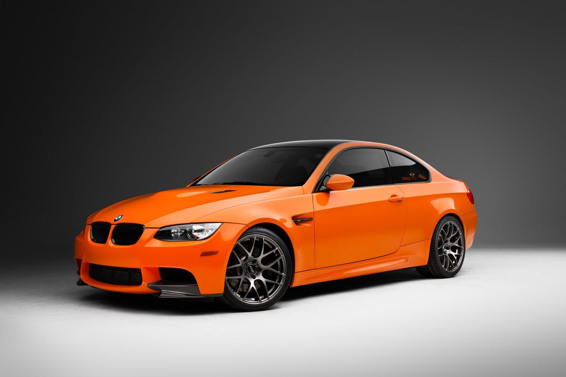BMW перед оранжевая  № 843803  скачать