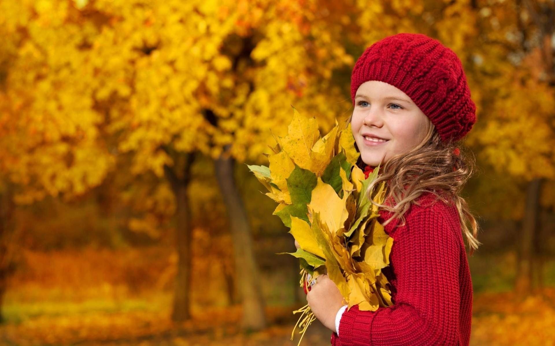 девушка берет осень загрузить