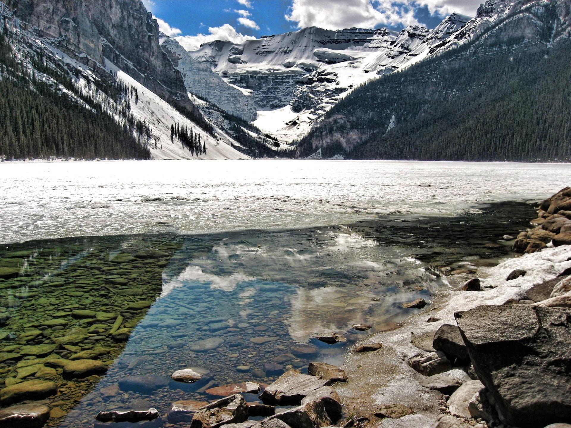 камни, горы, вода без смс