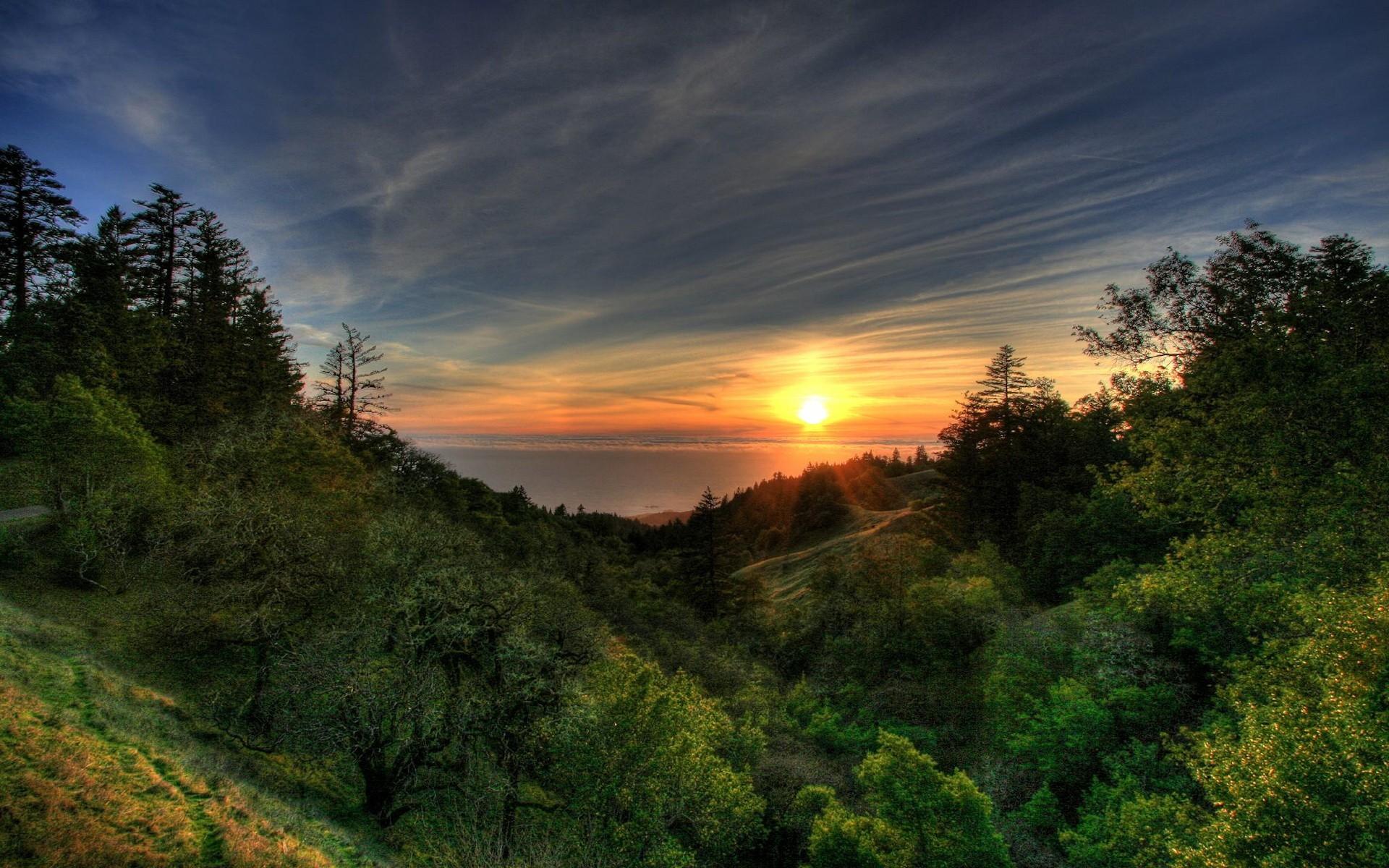 Картинки природа закат солнца
