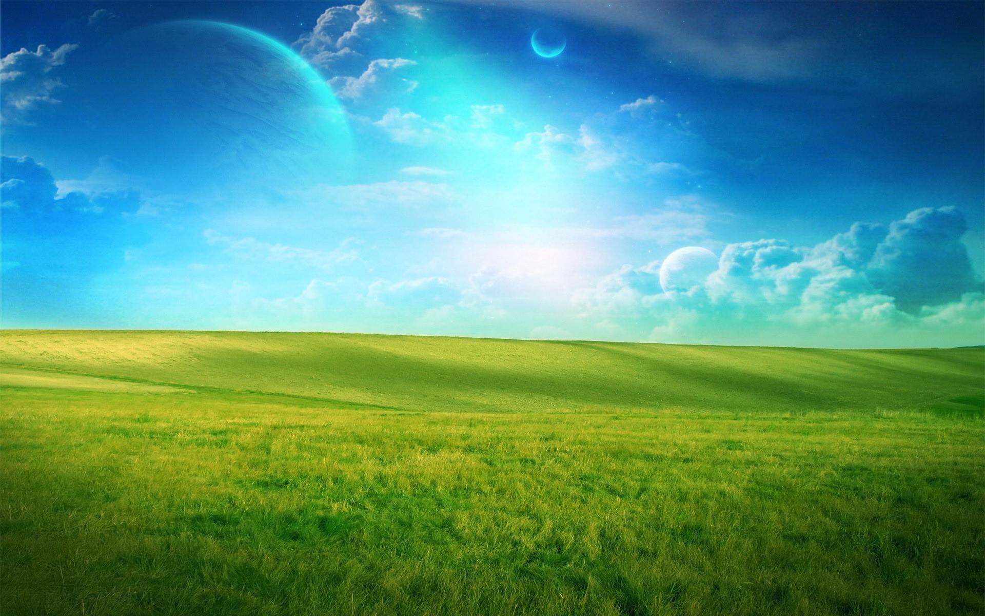 Поздравление, картинки небо и земля для детей