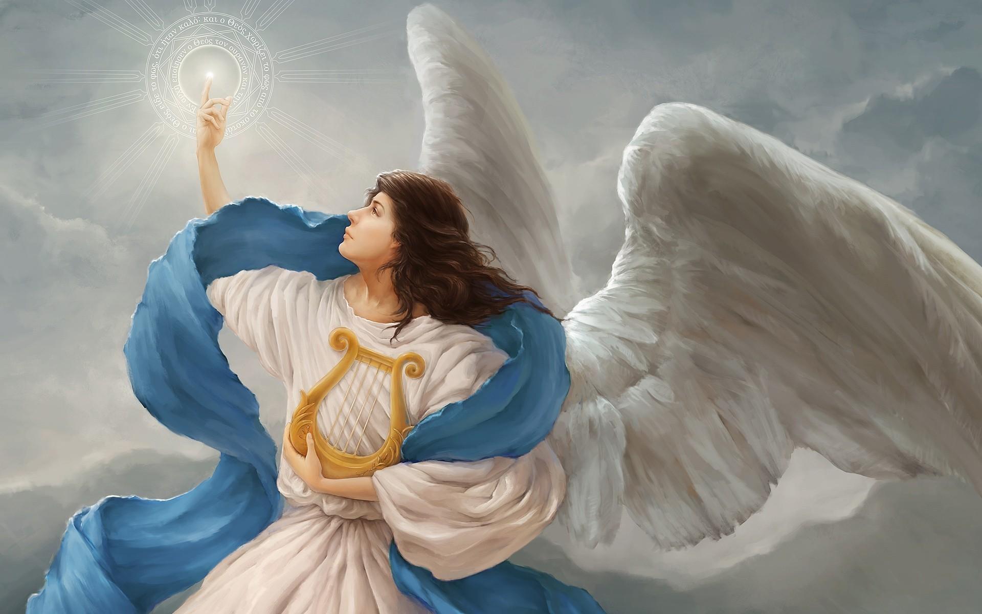 Ангелы в небе  № 2270205 бесплатно