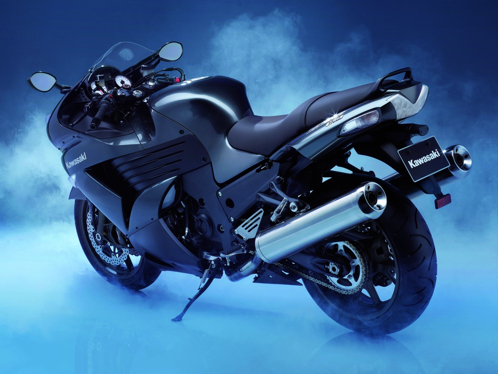 Обои спортивный, z 1000 sx, profile, Kawasaki, Мотоцикл. Мотоциклы foto 9