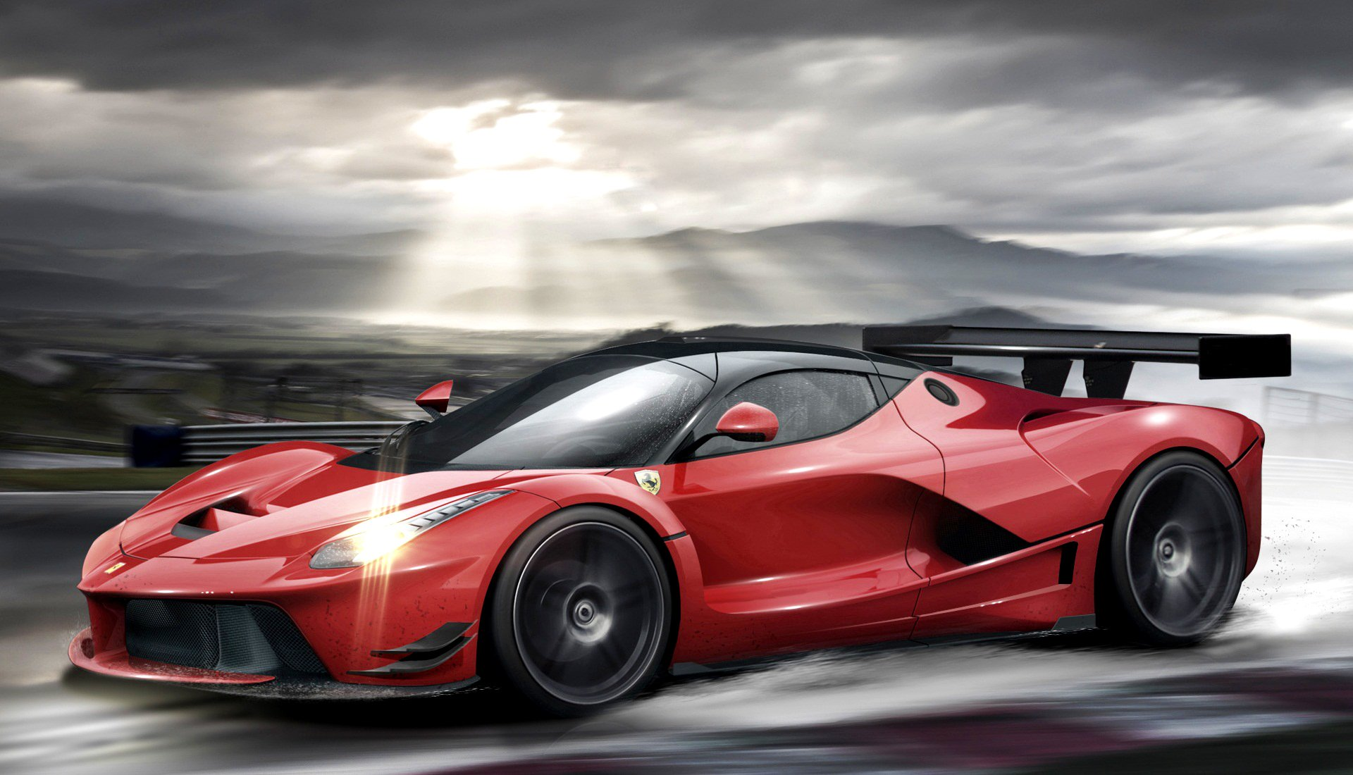 Ferrari red  № 2435127 загрузить