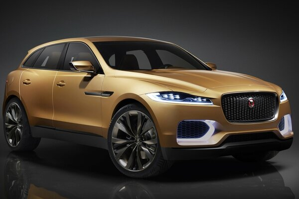 jaguar c- x17 5 -seater концепция ягуар концепт передок