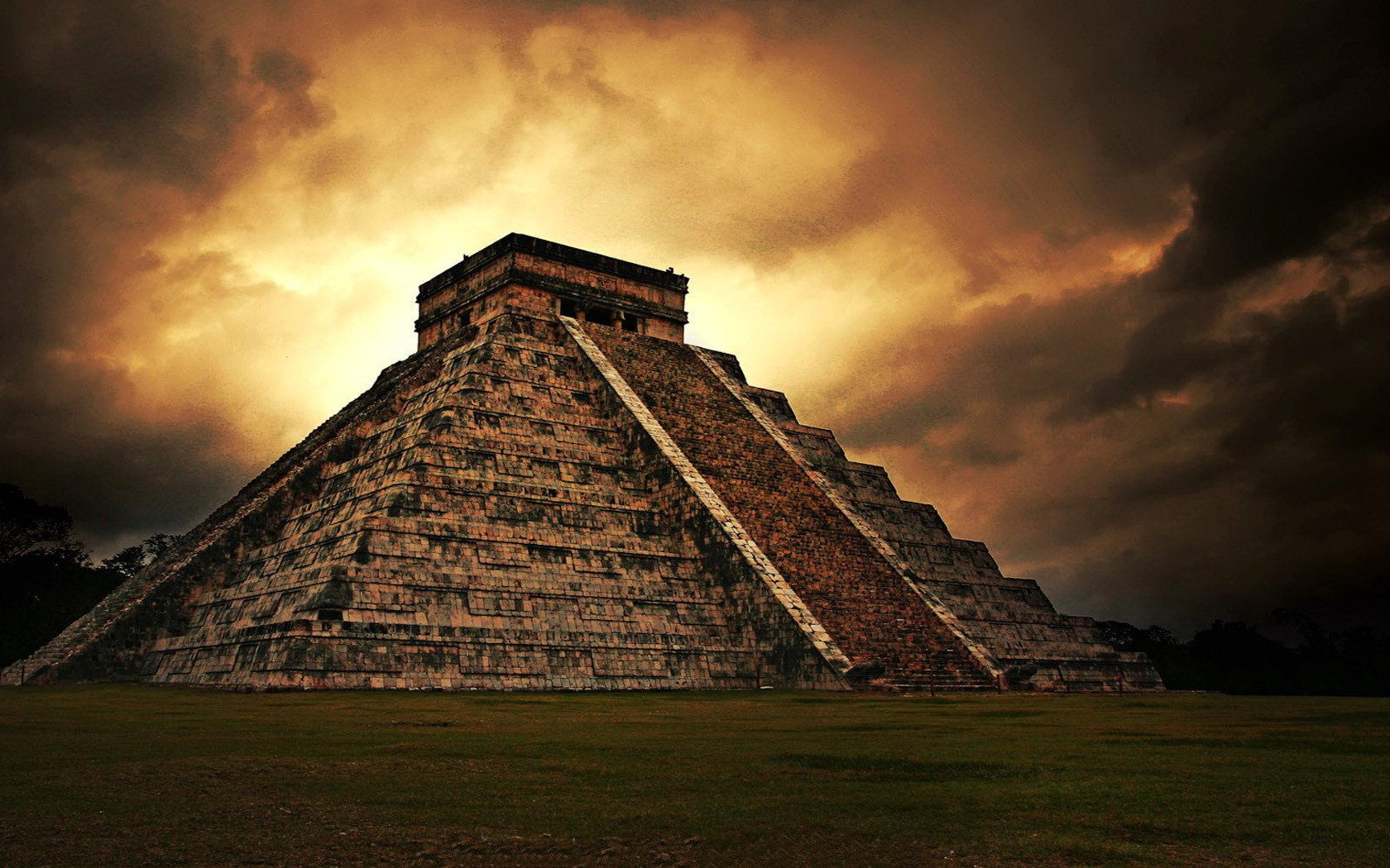 a look at the egyptian and mayan pyramids Undoubtedly the mayan pyramids are much older than the egyptian pyramids regardless of what official thought is the similarity in tibetan, mayan and egyptian languages indicates a common root.
