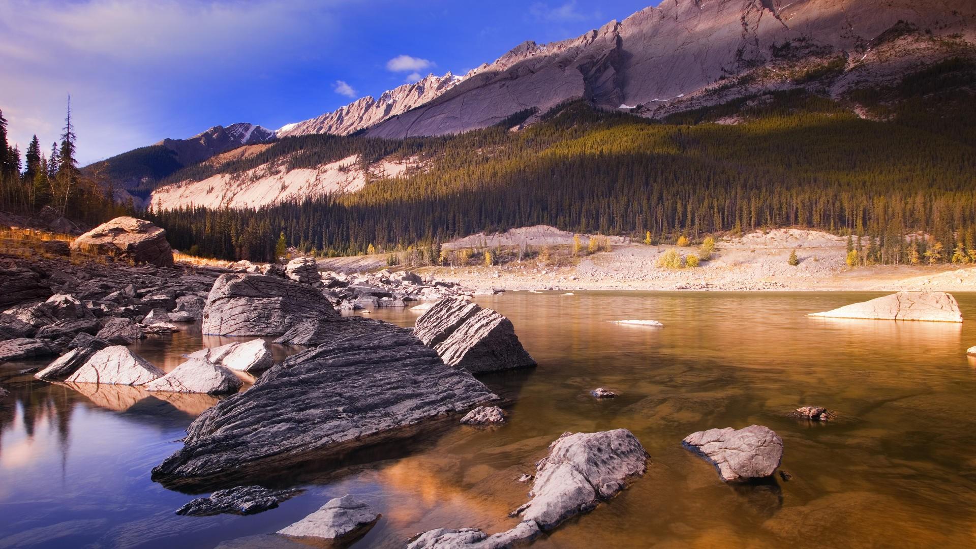 канада пейзаж обои на рабочий стол № 567423 загрузить