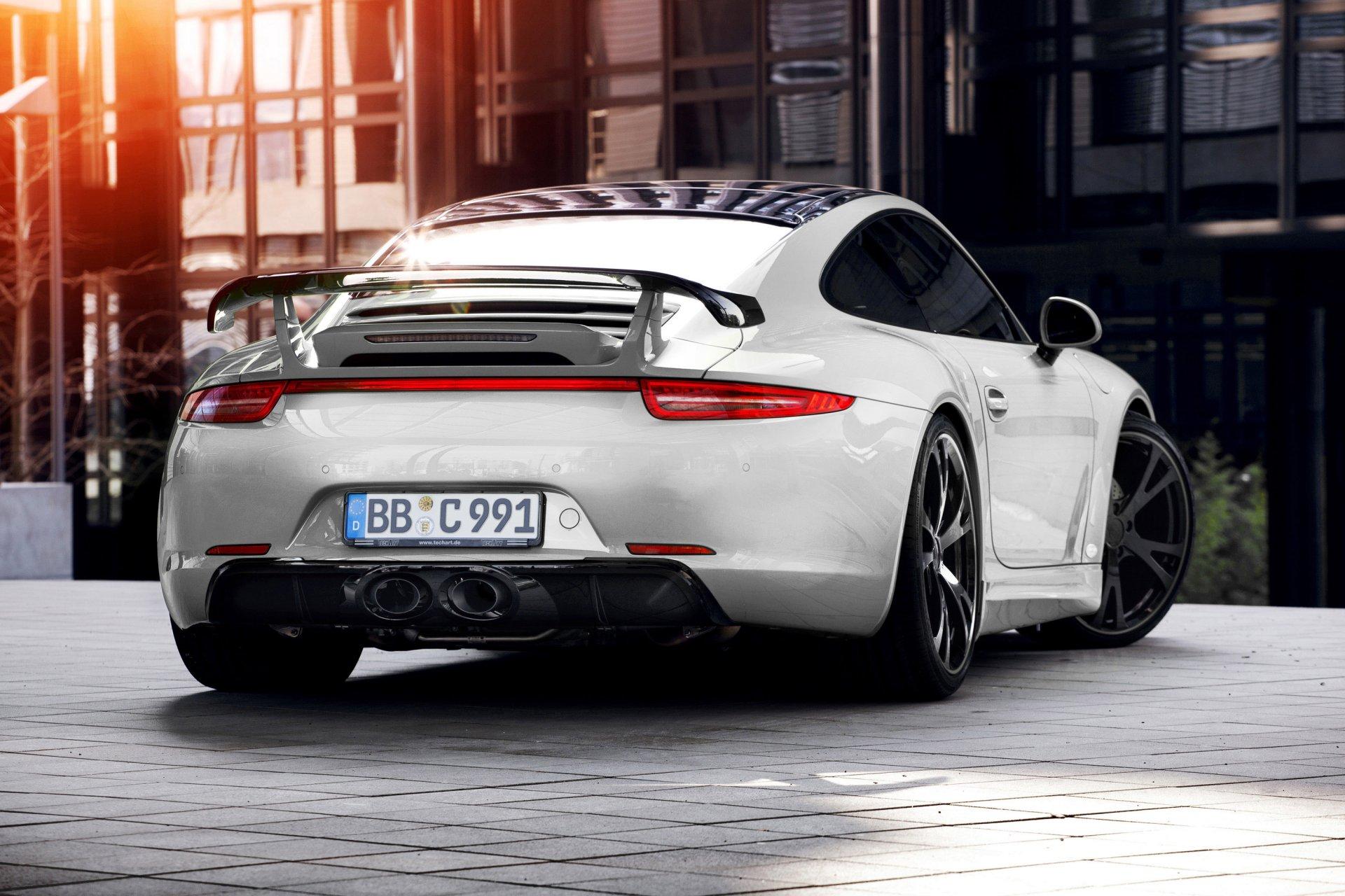 Обои Porsche cayman, Techart, car, тюнинг. Автомобили foto 19