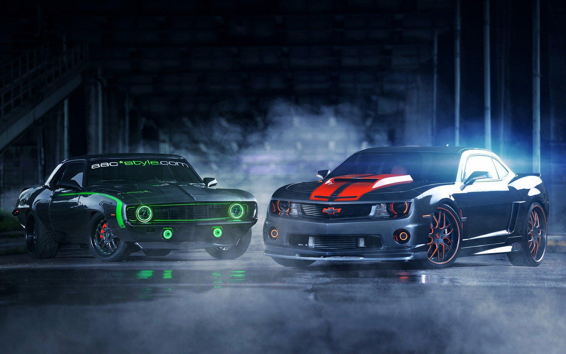 Обои колёса, Chevrolet camaro, полосы, диски, асфальт, шевроле камаро. Автомобили foto 8