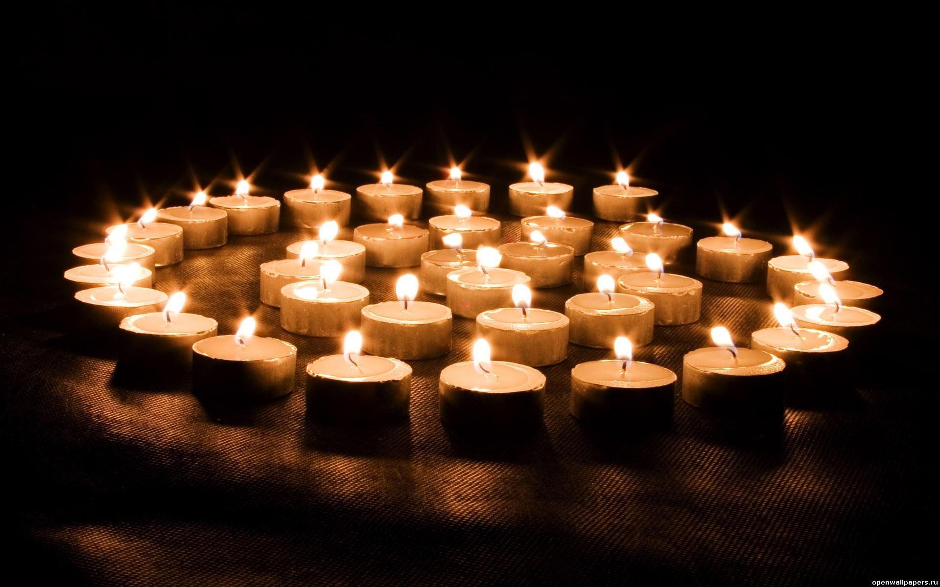 Картинки свечей на полу