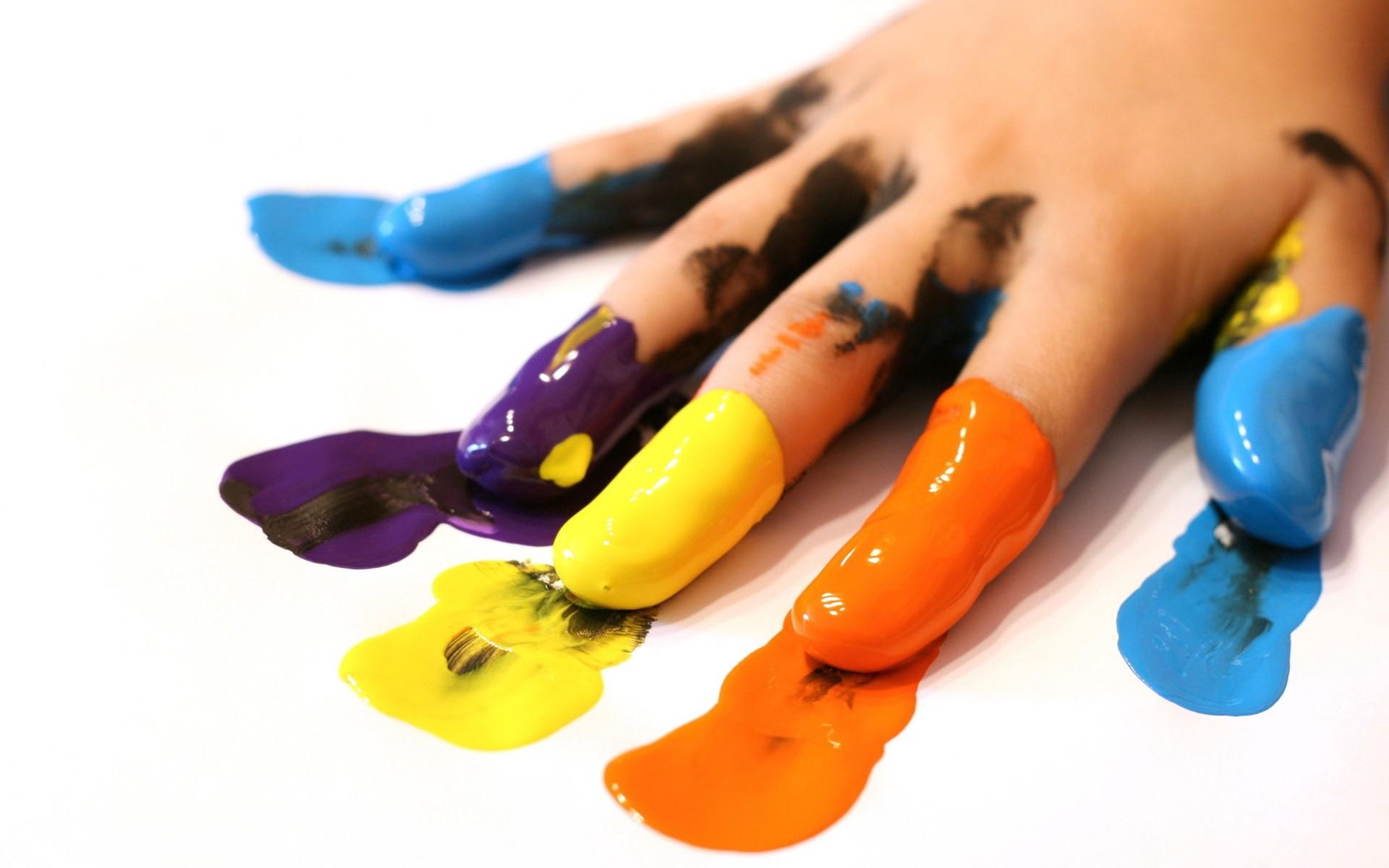 Рука отпечаток креатив скачать