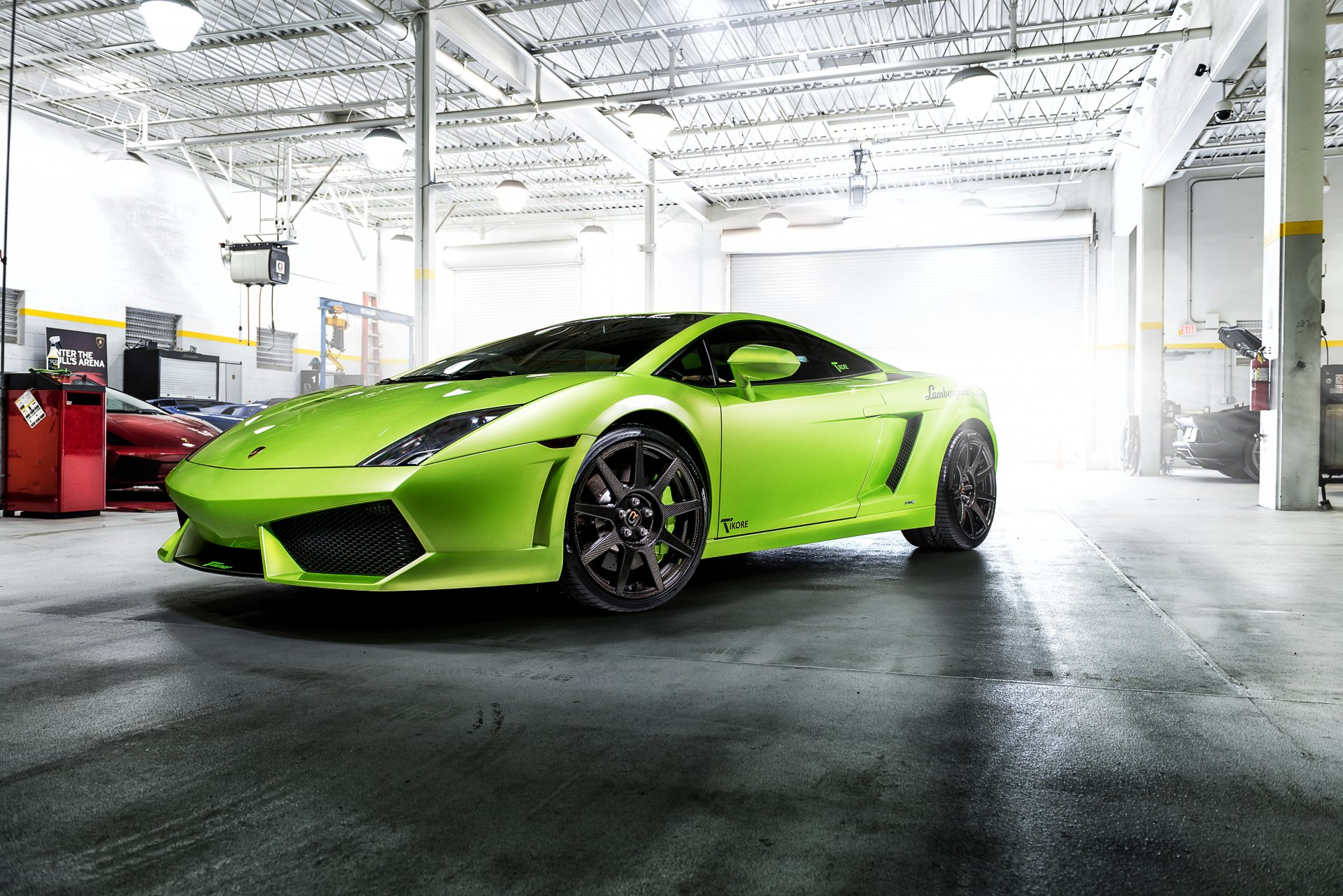 зелены авто картинки