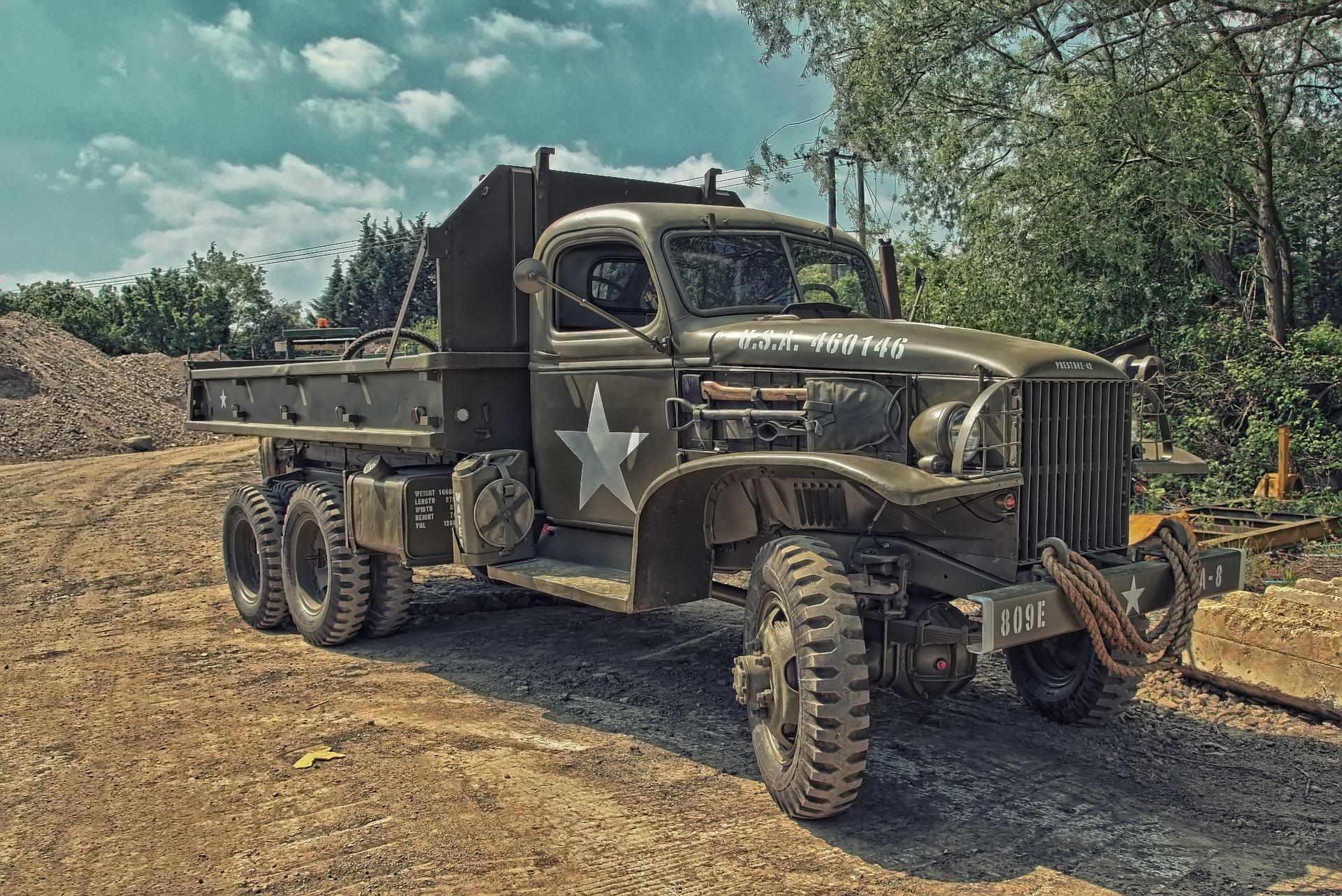 Обои truck, грузовой, повышенной, проходимости, автомобиль. Автомобили foto 16
