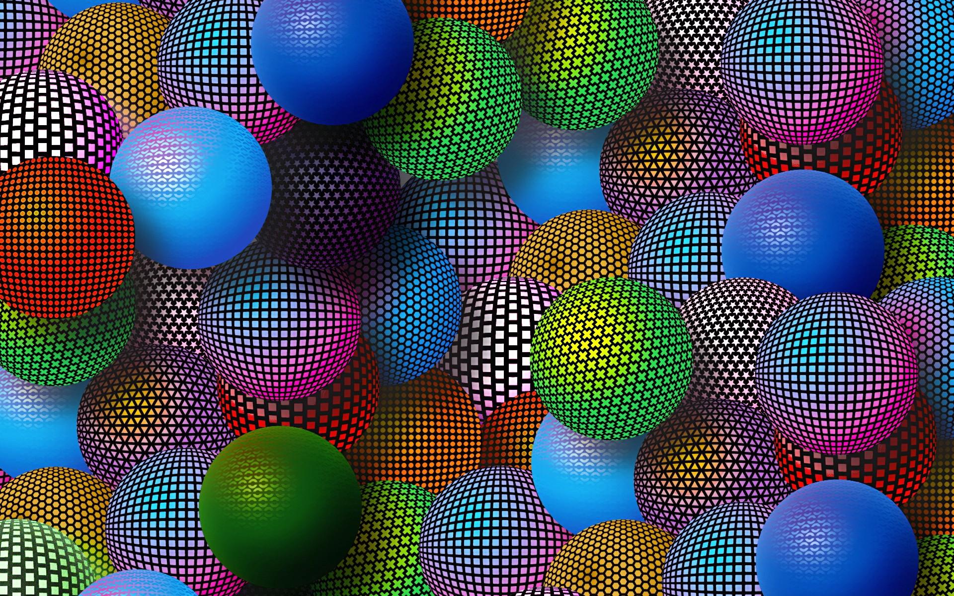 квадратные шары  № 2074935 загрузить