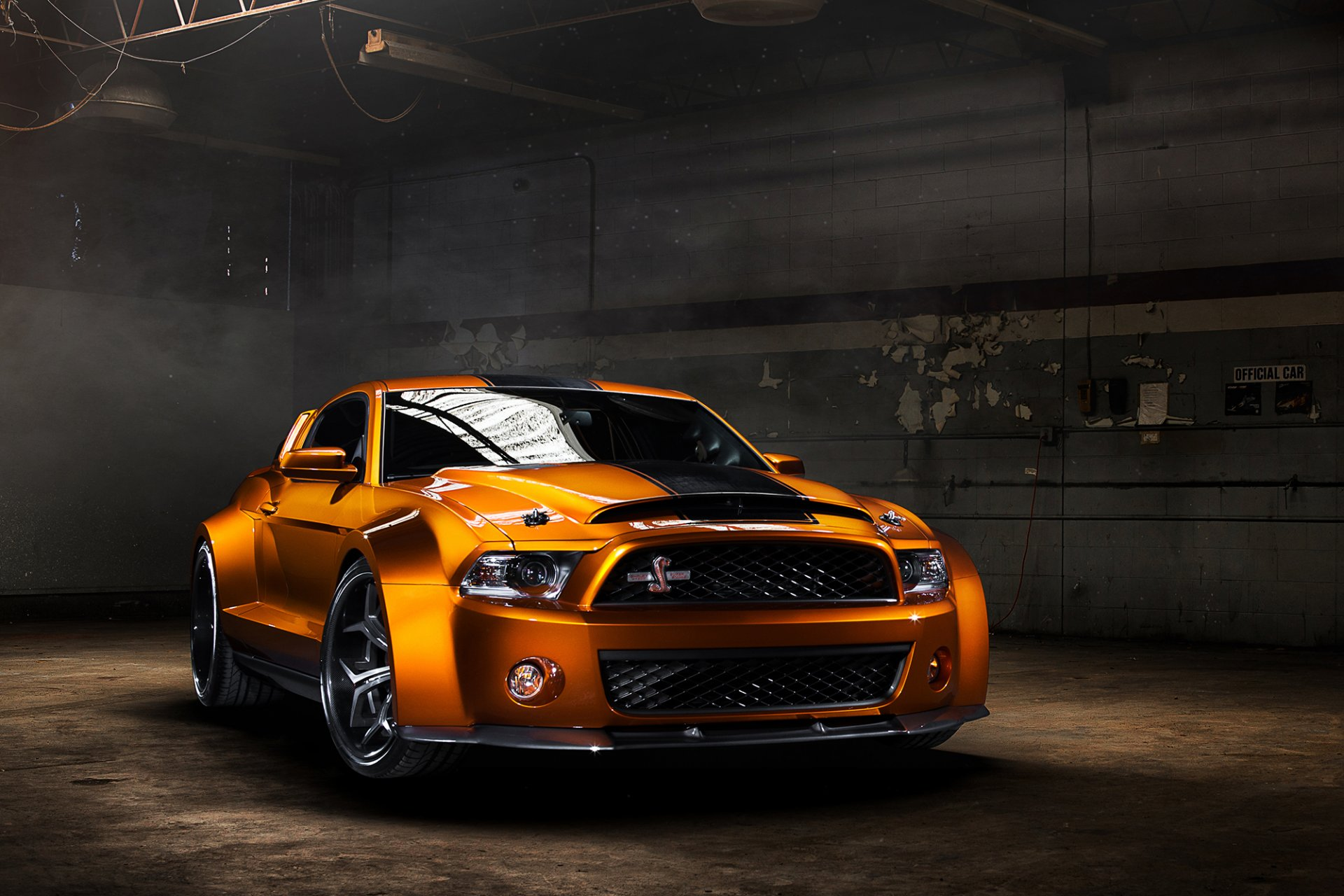 Ford Mustang Shelby GT500 Super Snake Ultimate Auto Vellano Wheels orange front muscle car мускул кар обвес