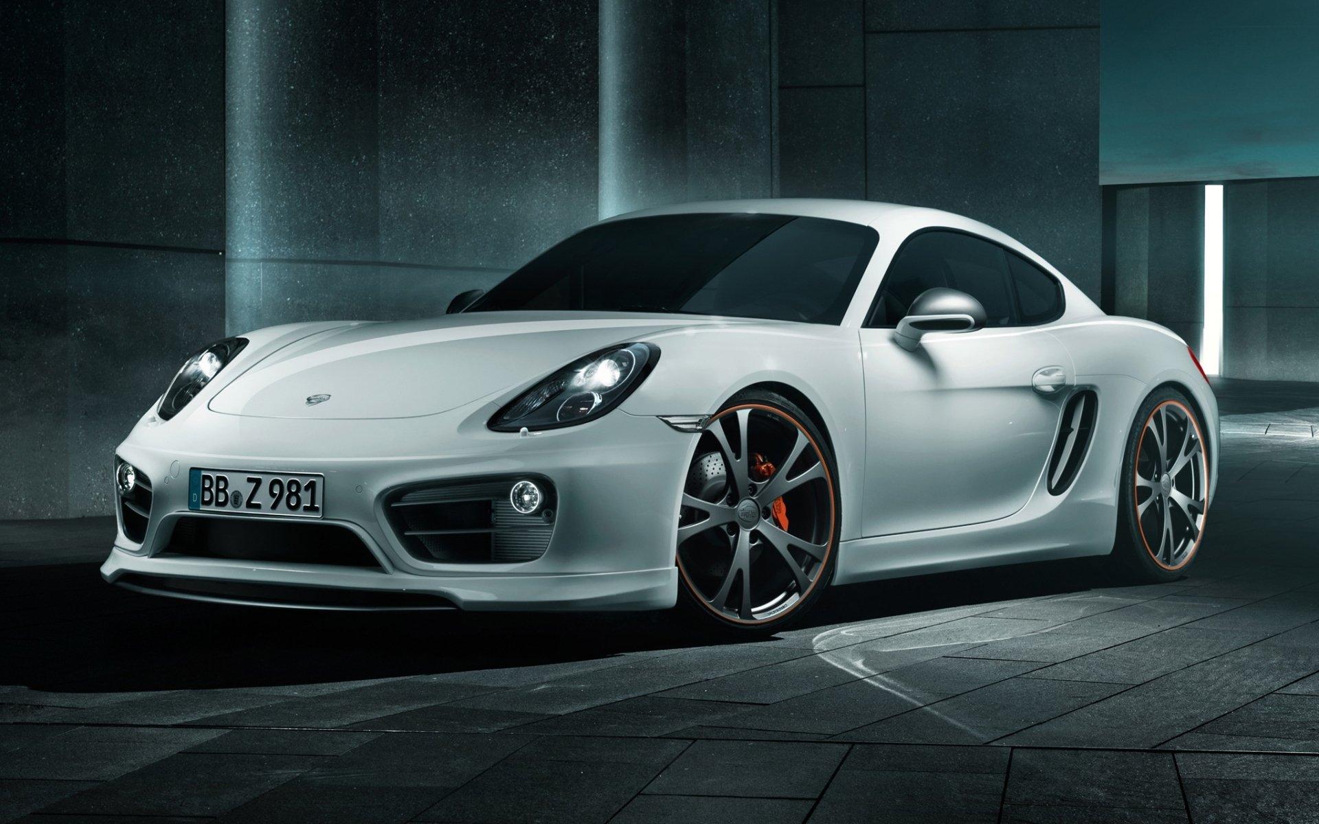 Обои Porsche cayman, Techart, car, тюнинг. Автомобили foto 12