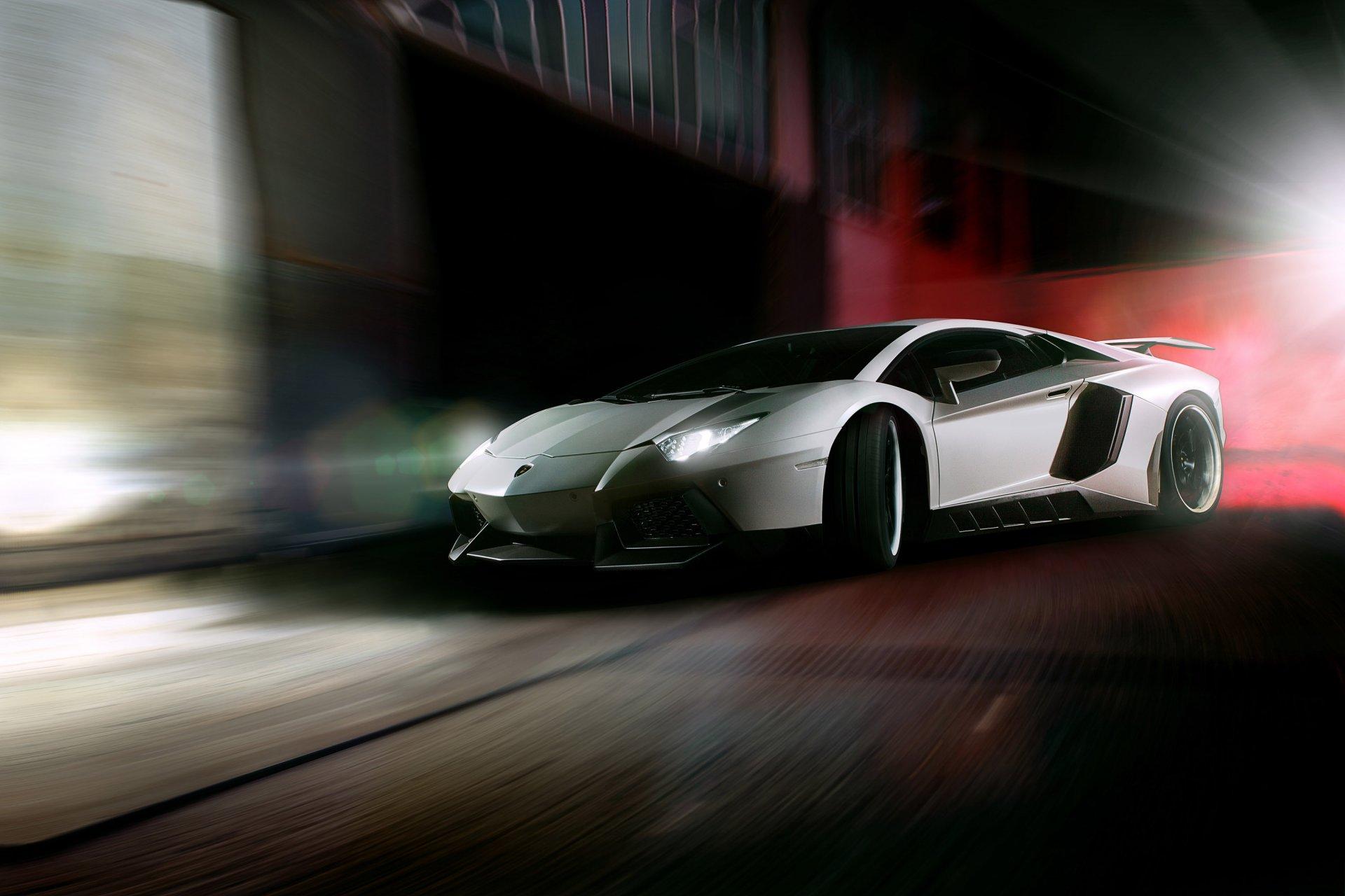 Обои зеленая, Lamborghini miura, здание, вид сбоку. Автомобили foto 10