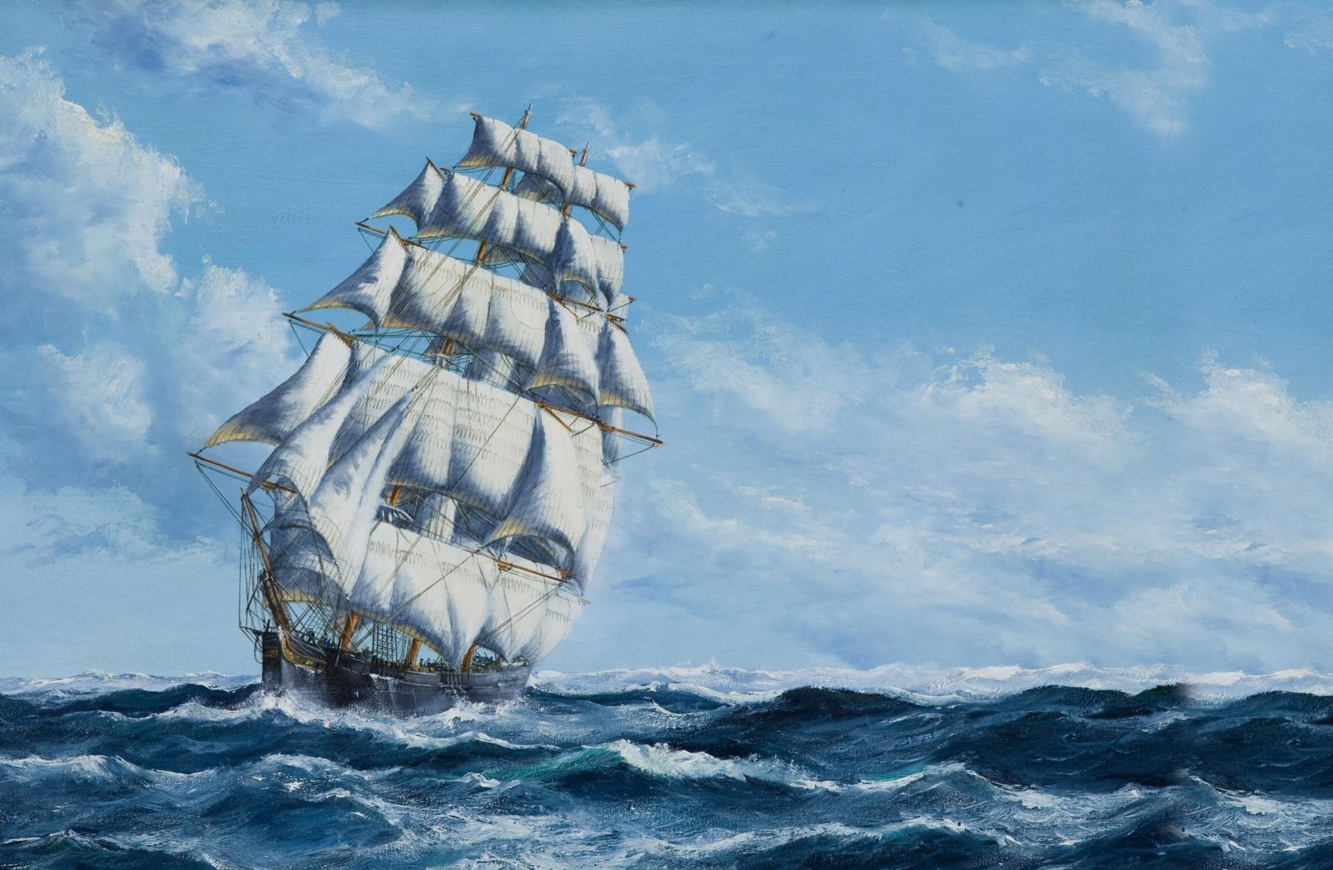Обои паруса, корабль. Разное foto 8