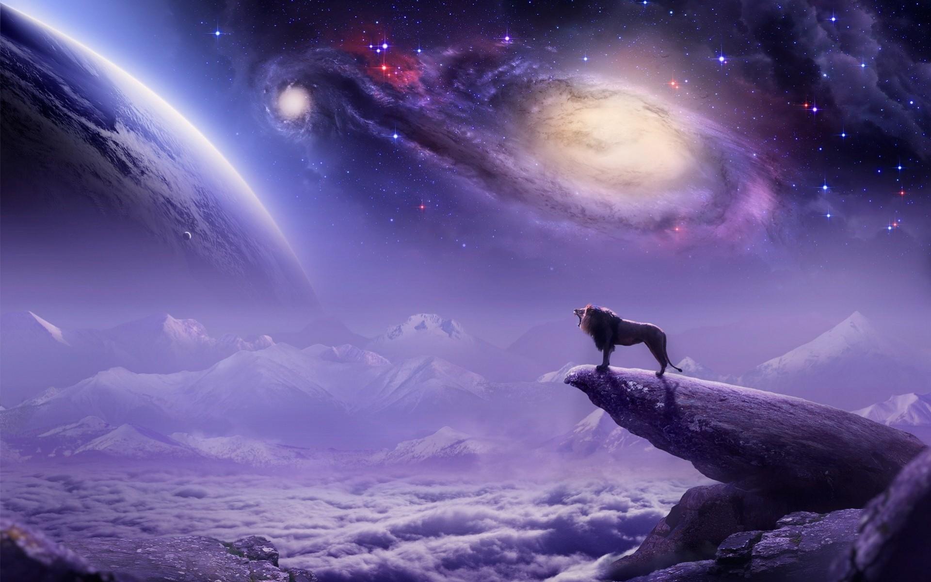 Обои Скалы планеты вода звезда картинки на рабочий стол на тему Космос - скачать  № 3553891  скачать