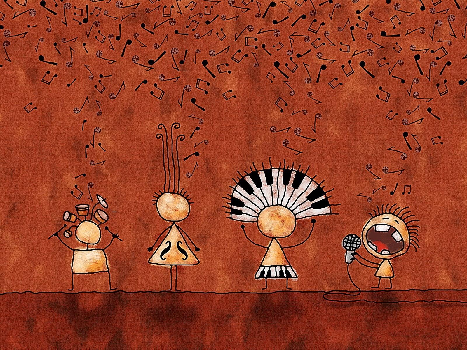 Смешные картинки на тему музыка
