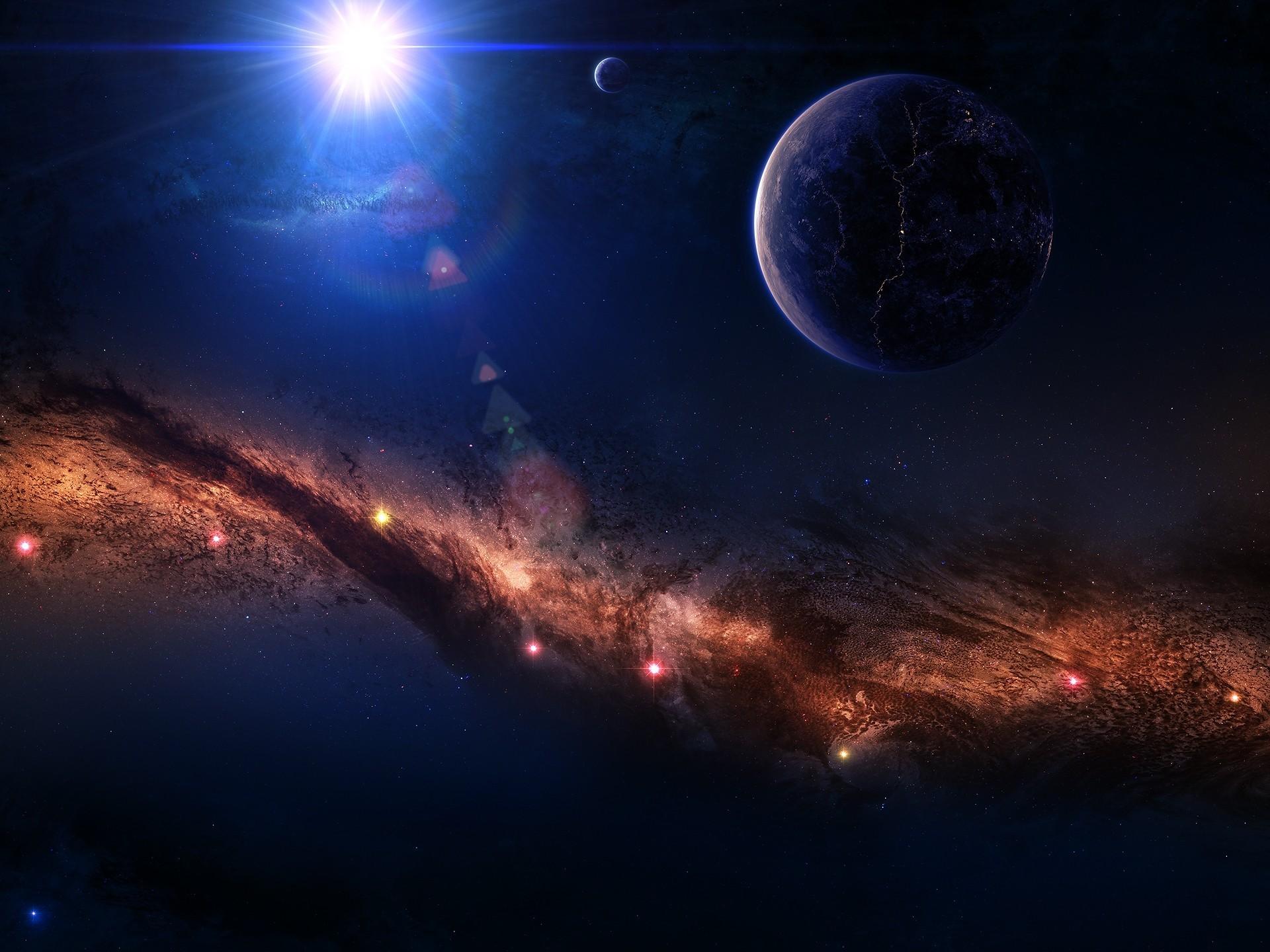 Фото космоса на весь экран