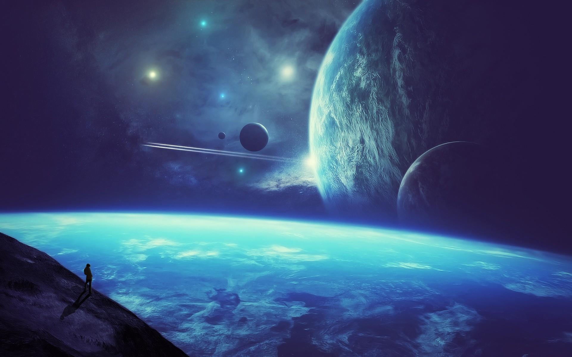Обои космос планеты space planet картинки на рабочий стол на тему Космос - скачать бесплатно