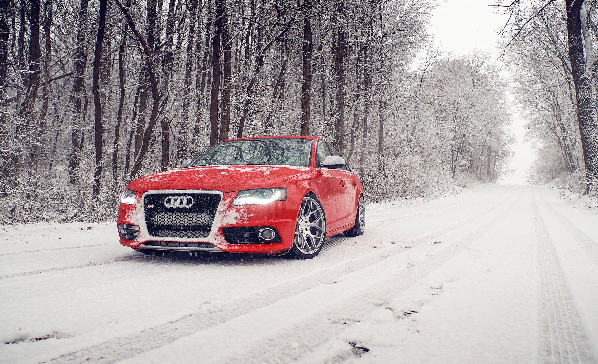 графика автомобиль красный спортивный снег зима без смс