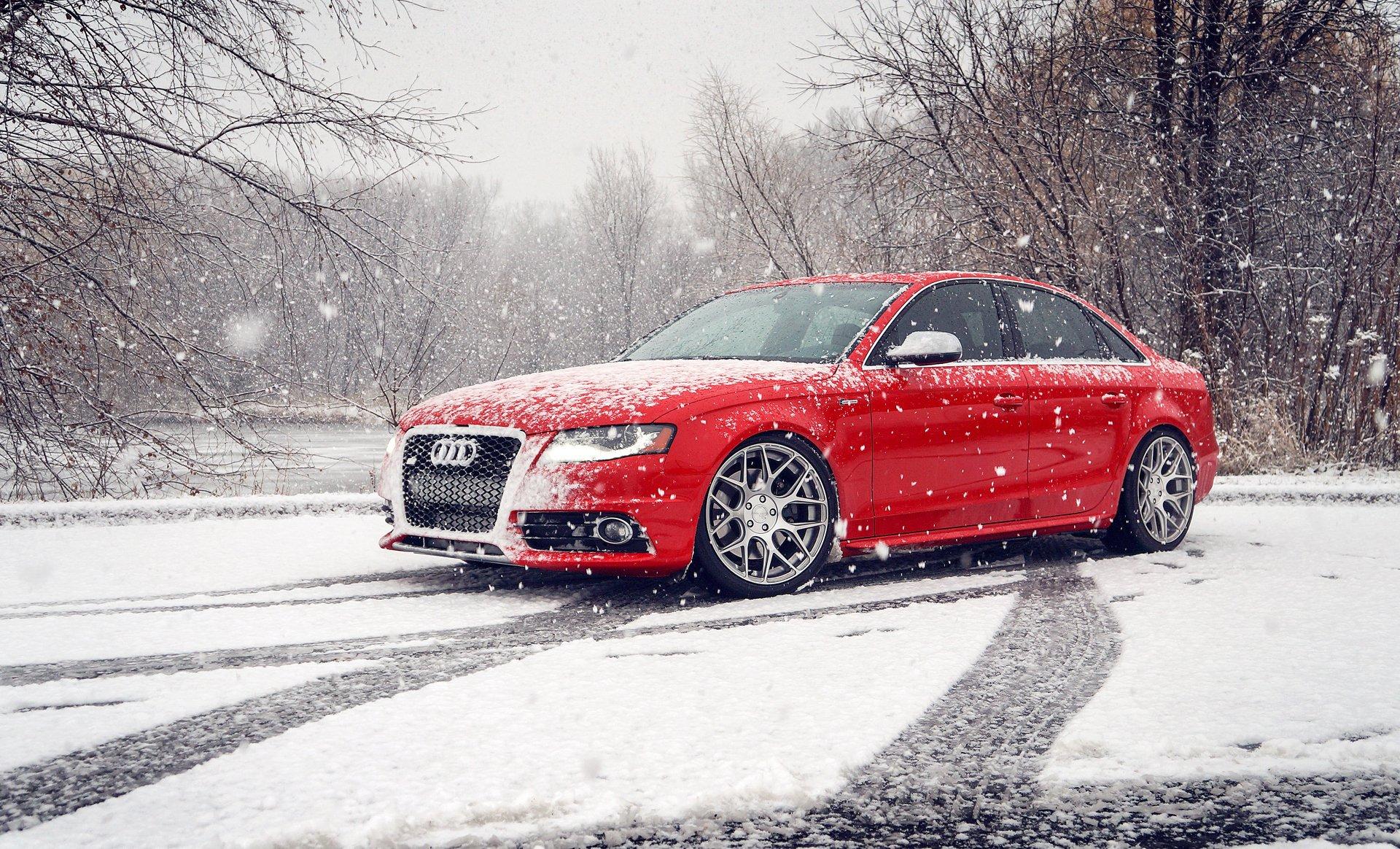графика автомобиль красный спортивный снег зима бесплатно