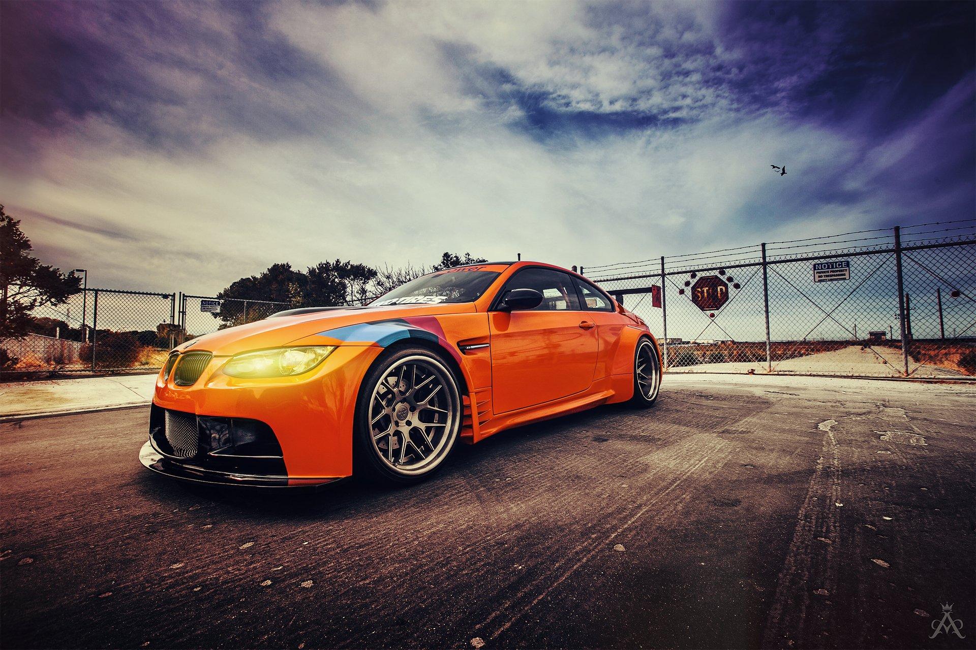BMW перед оранжевая  № 843871 бесплатно