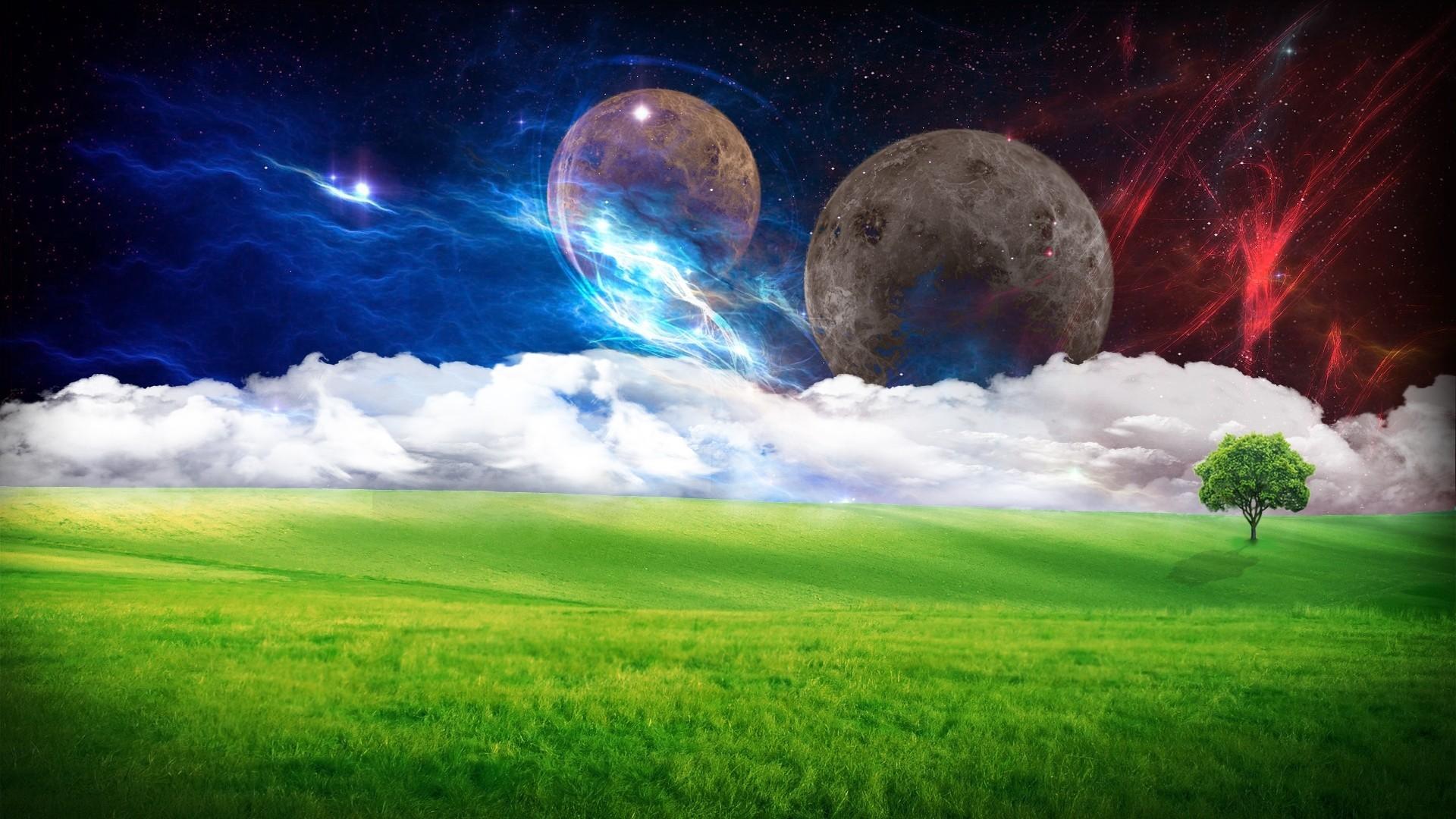 Космос обои на рабочий стол. Галактики, туманности, звезды ...