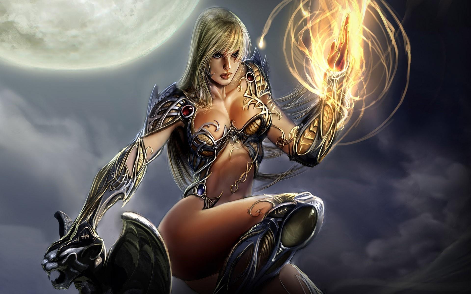 Sexy fantasy girls