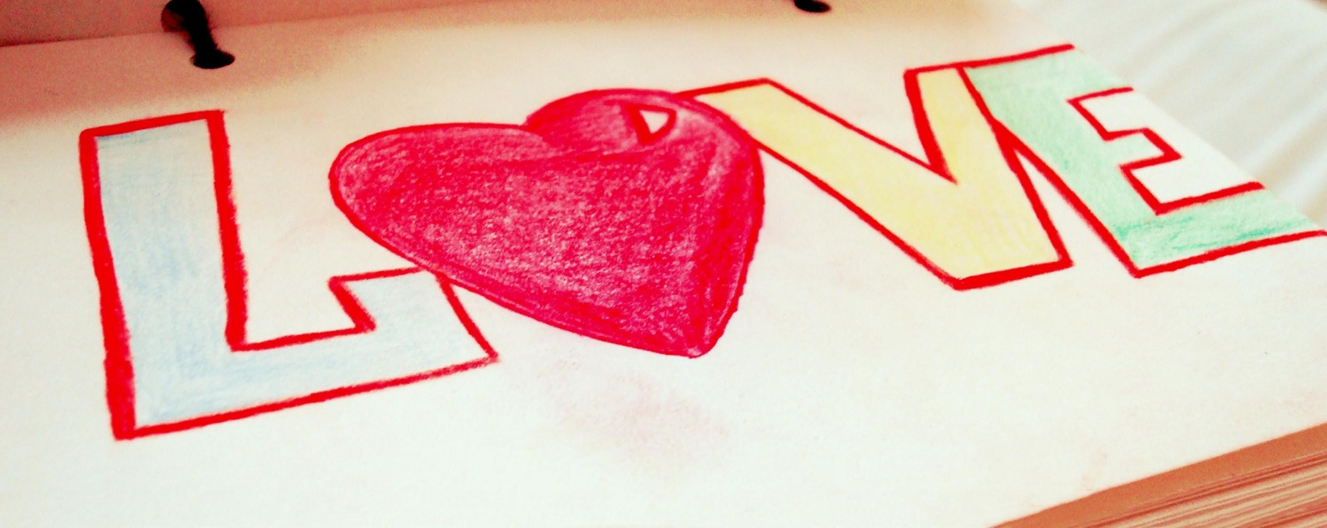 Картинки карандашом я люблю