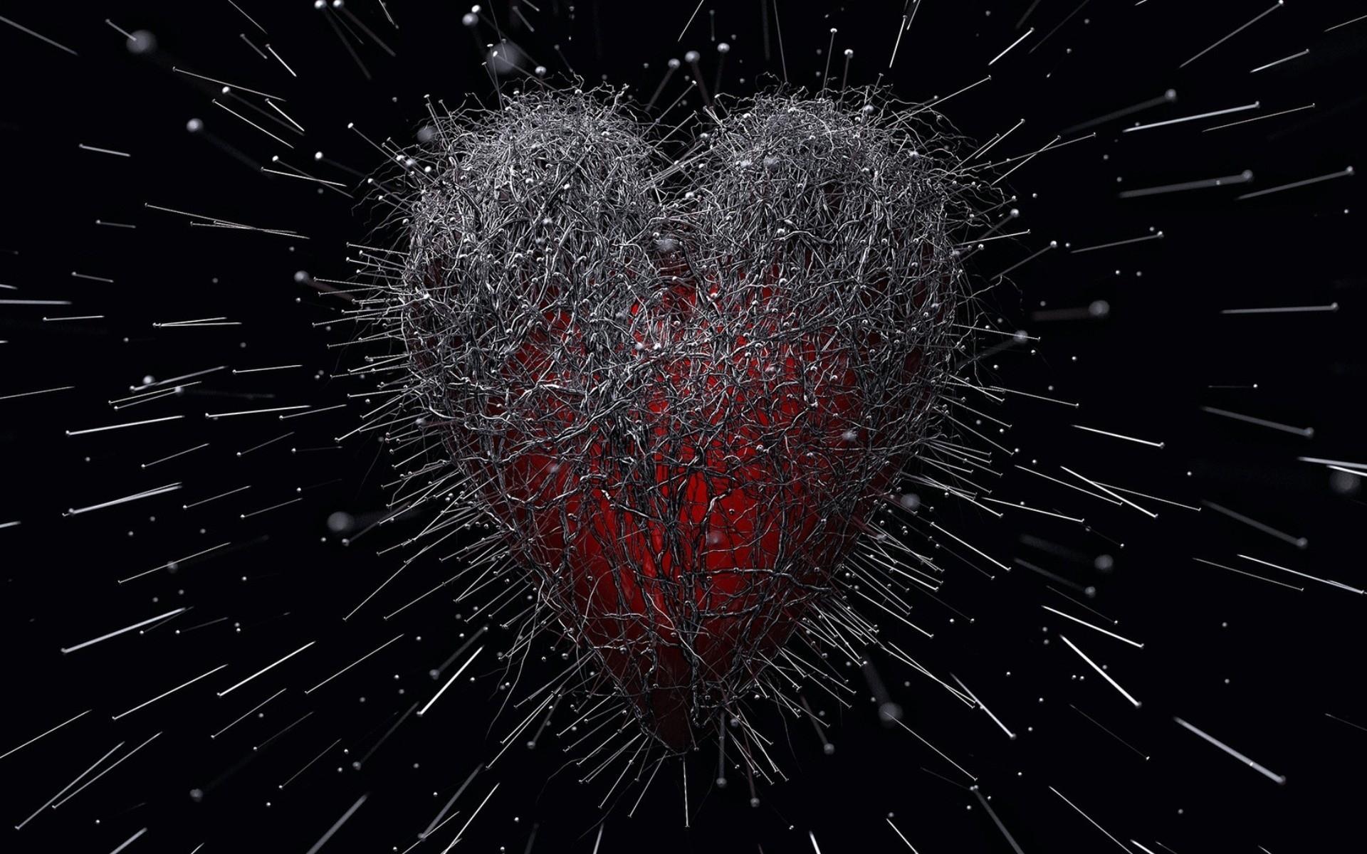 фото в сердце боль