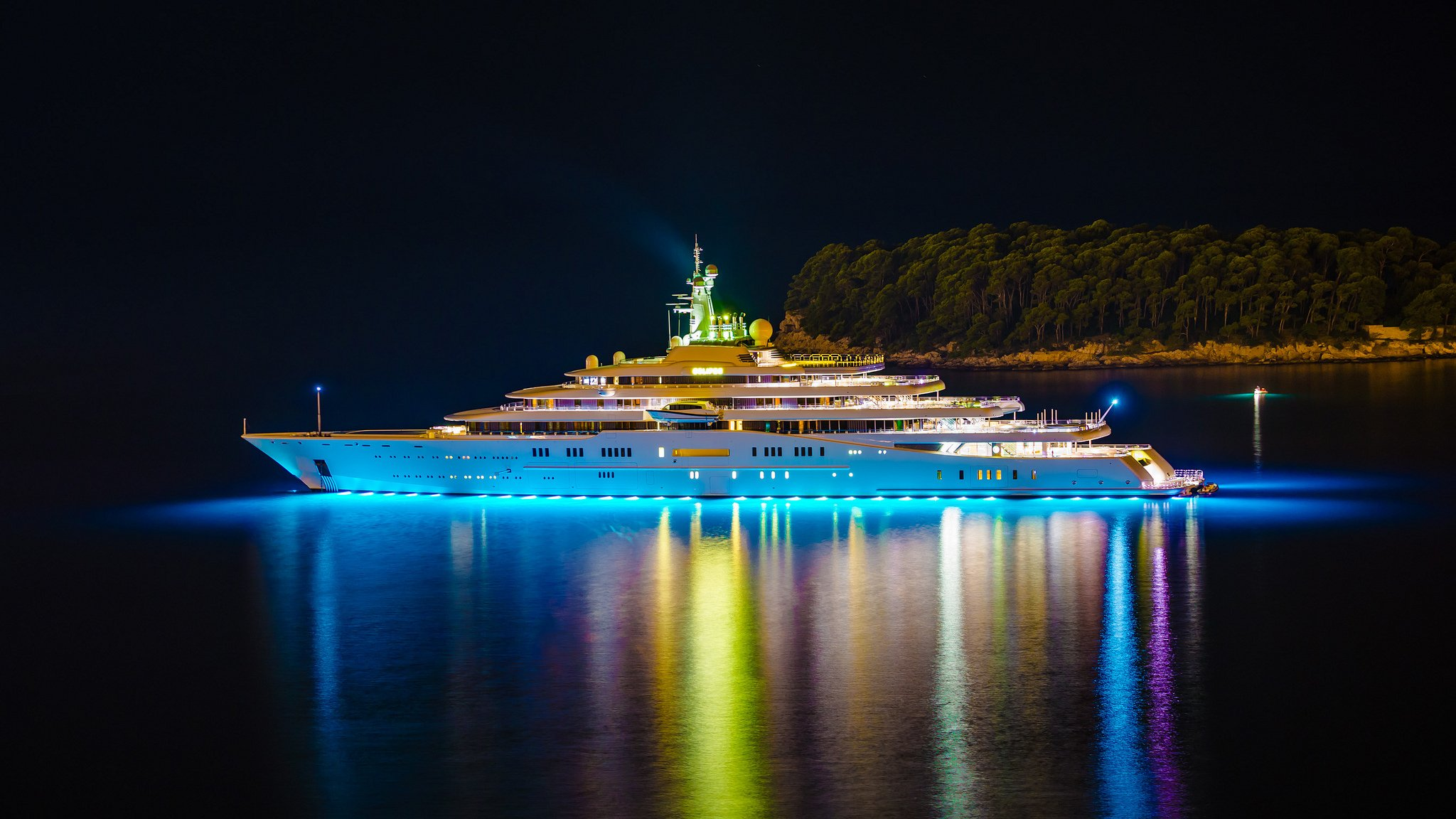 ночная яхта без регистрации