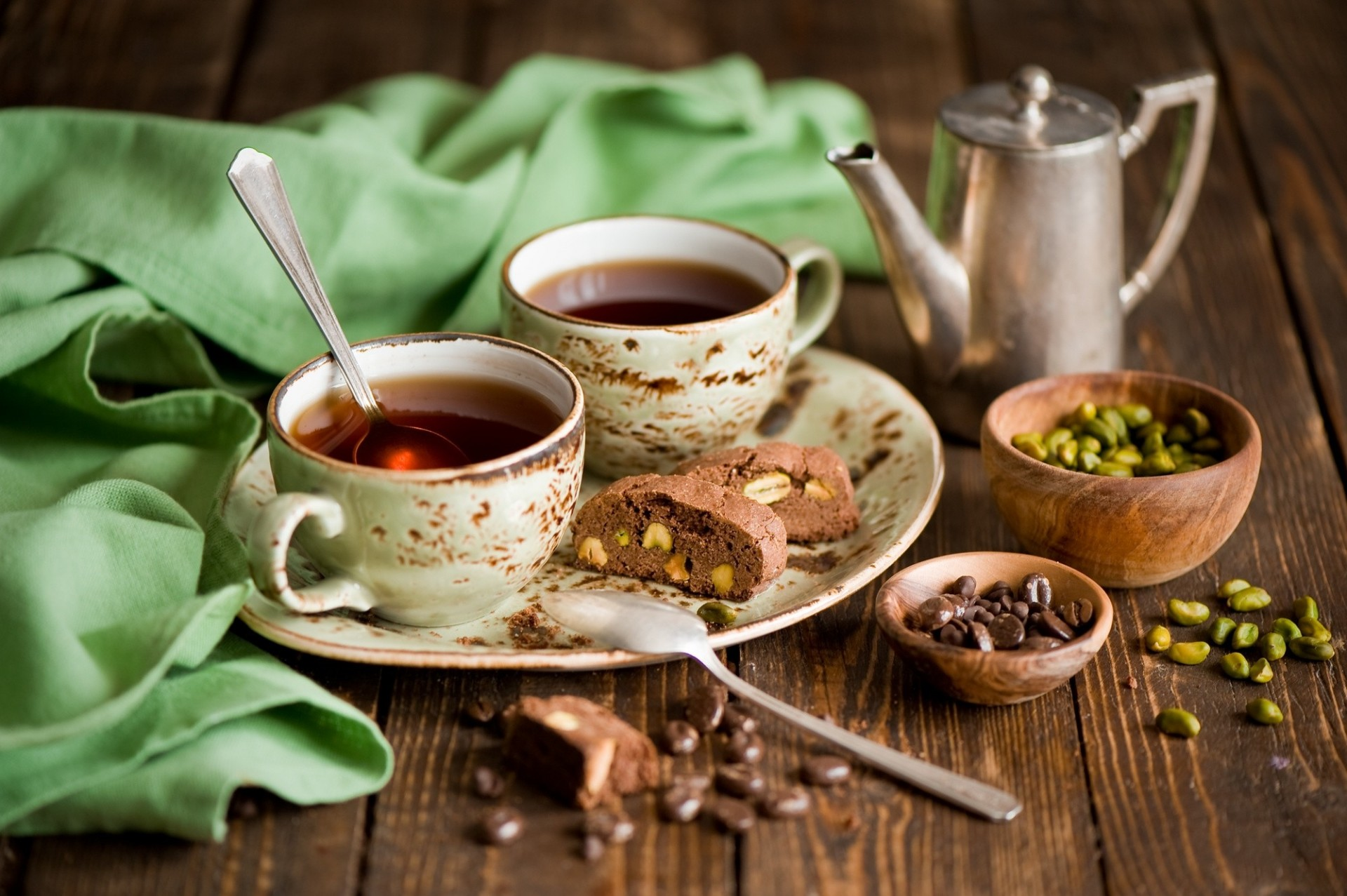 Чай и сухофрукты  № 674179 бесплатно
