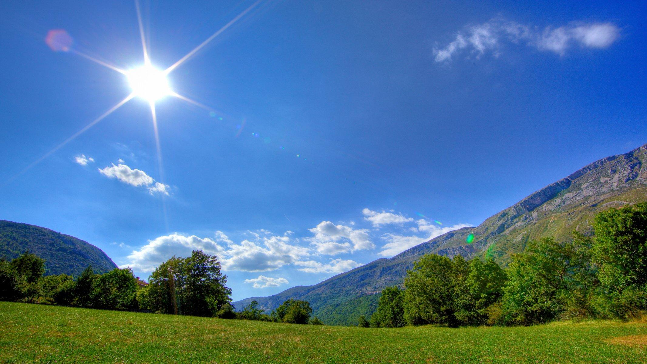 картинка пейзаж солнце области корпоративного, гражданского