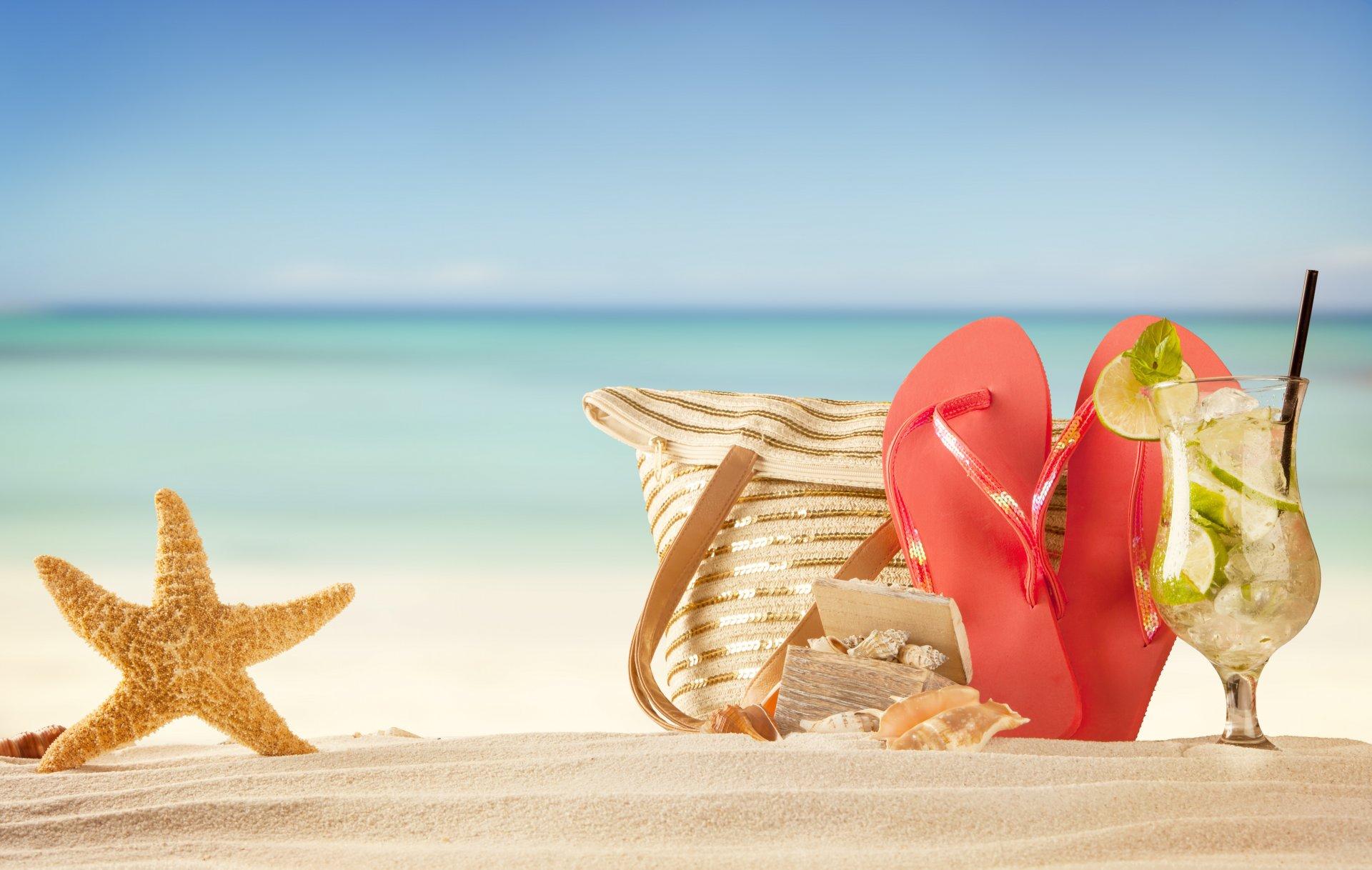 летние пляжи обои на рабочий стол № 491170 бесплатно