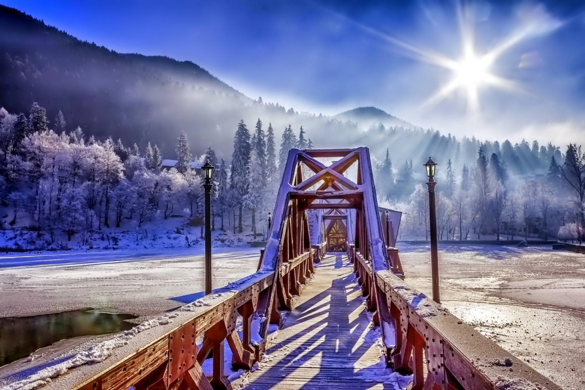 трогательные зимняя мостовая картинки заметила